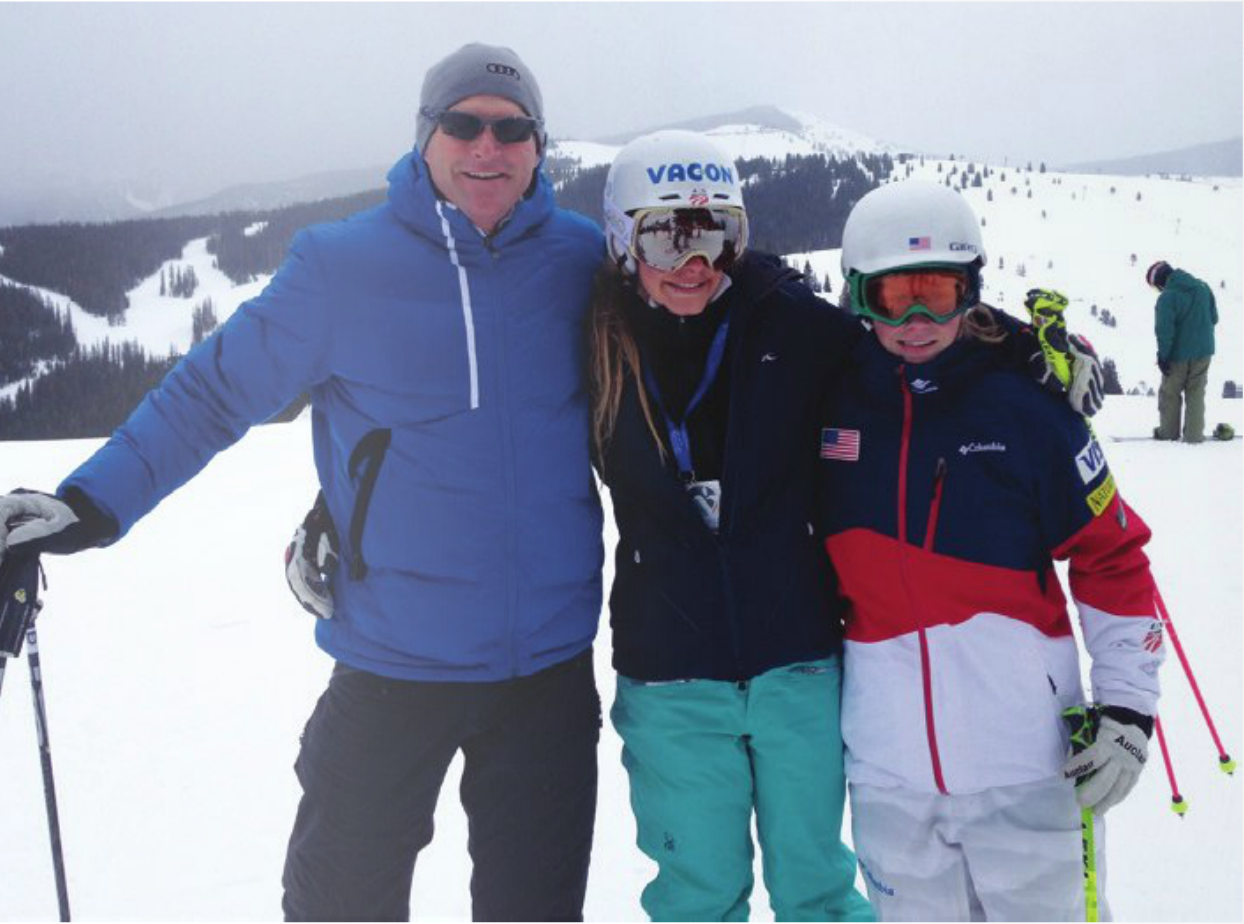 We've got great mountains, great snow, and great people here! #Vail