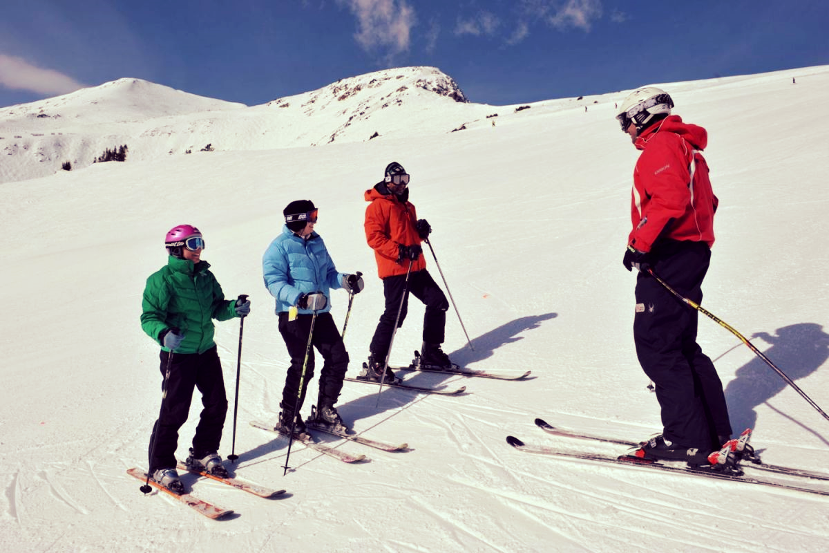 One good lesson can go a long way. #Skiing #Safety #Vail