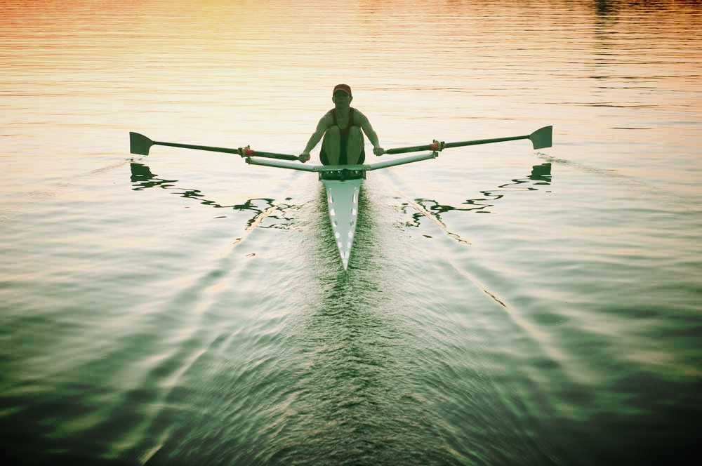 Got bad knees? Rowing is a great way to work your upper body and save the knee joints.