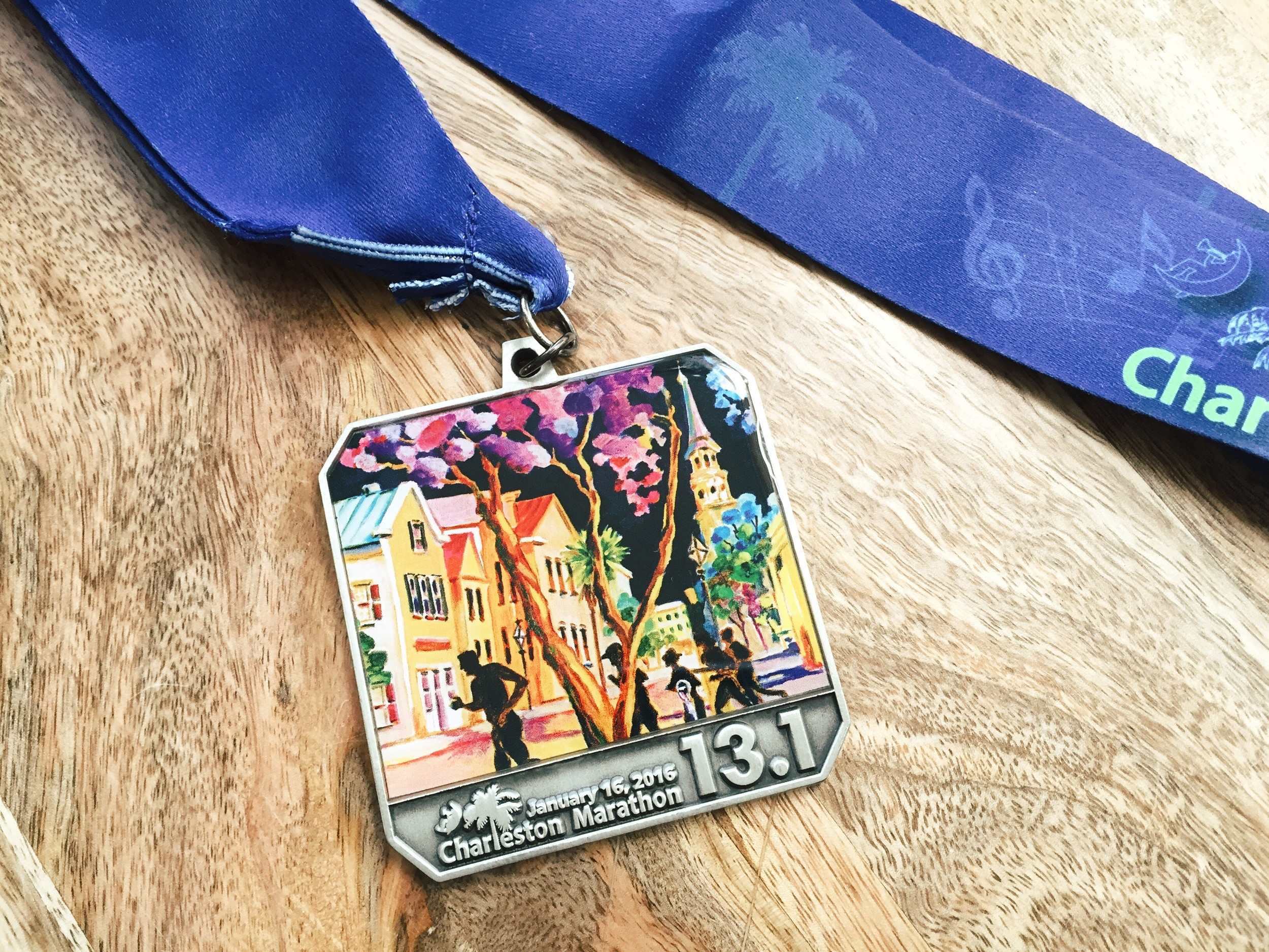 I loved the medal this year! My favorite so far for this race.