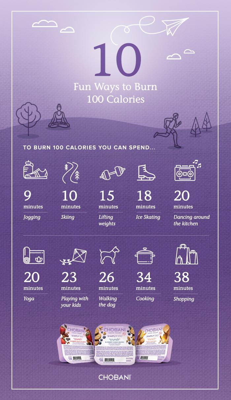 chobani-10-ways-to-burn-100-calories