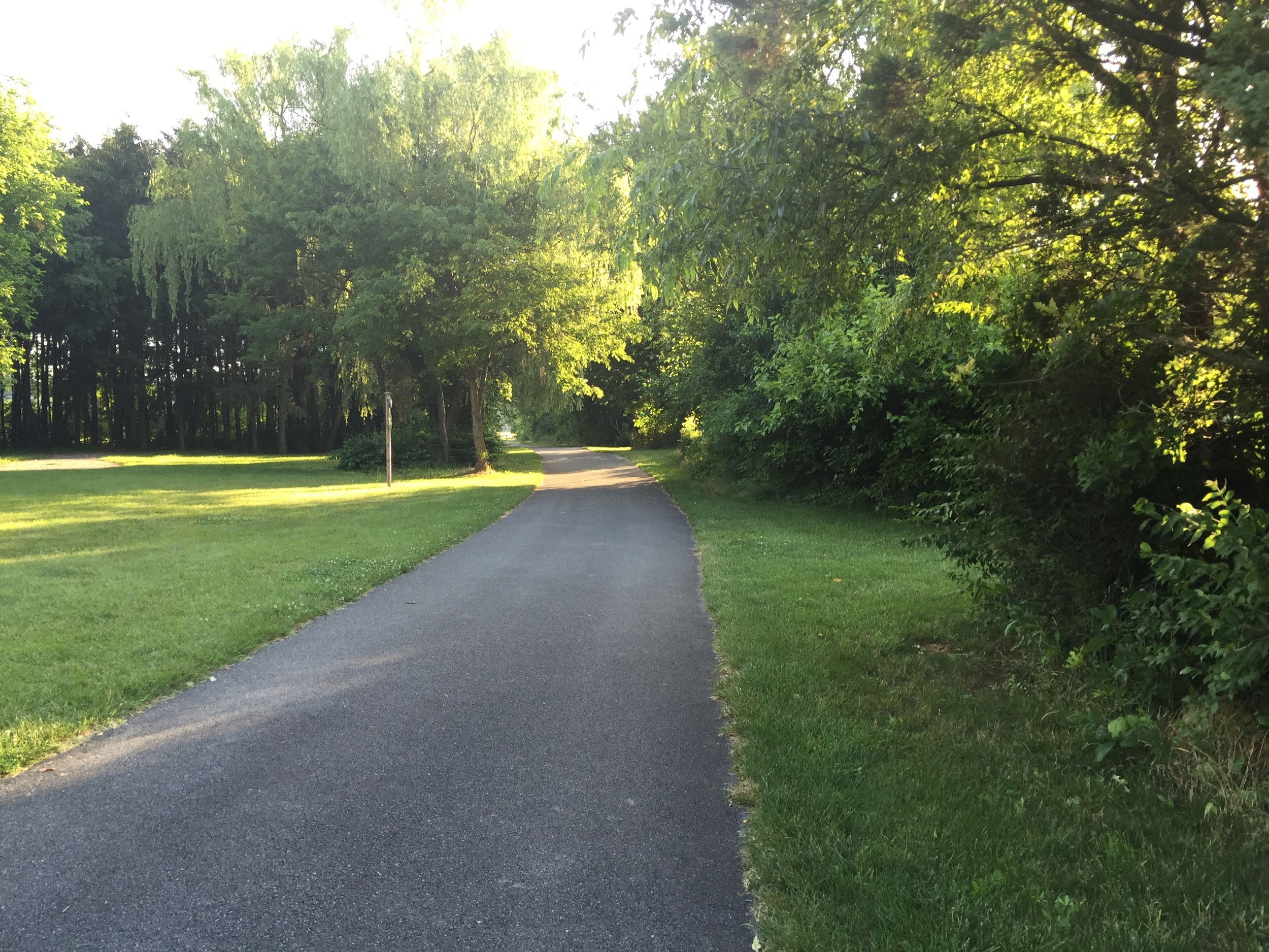 Overlook park running trail