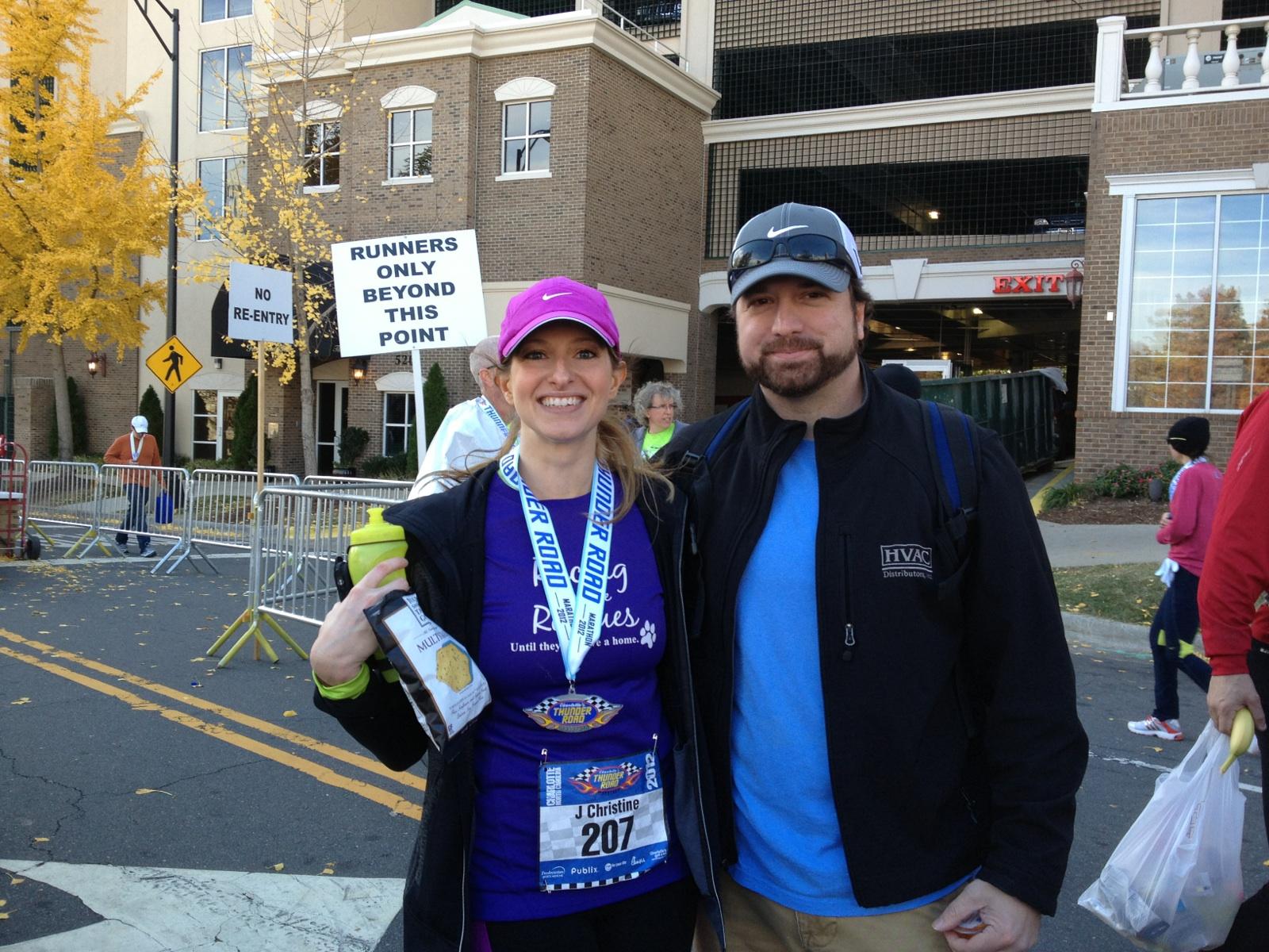 After my first marathon