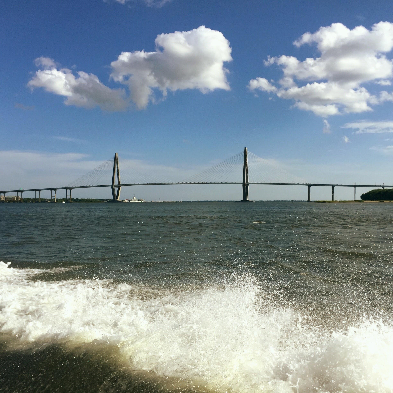 Charleston Harbor Views from the boat