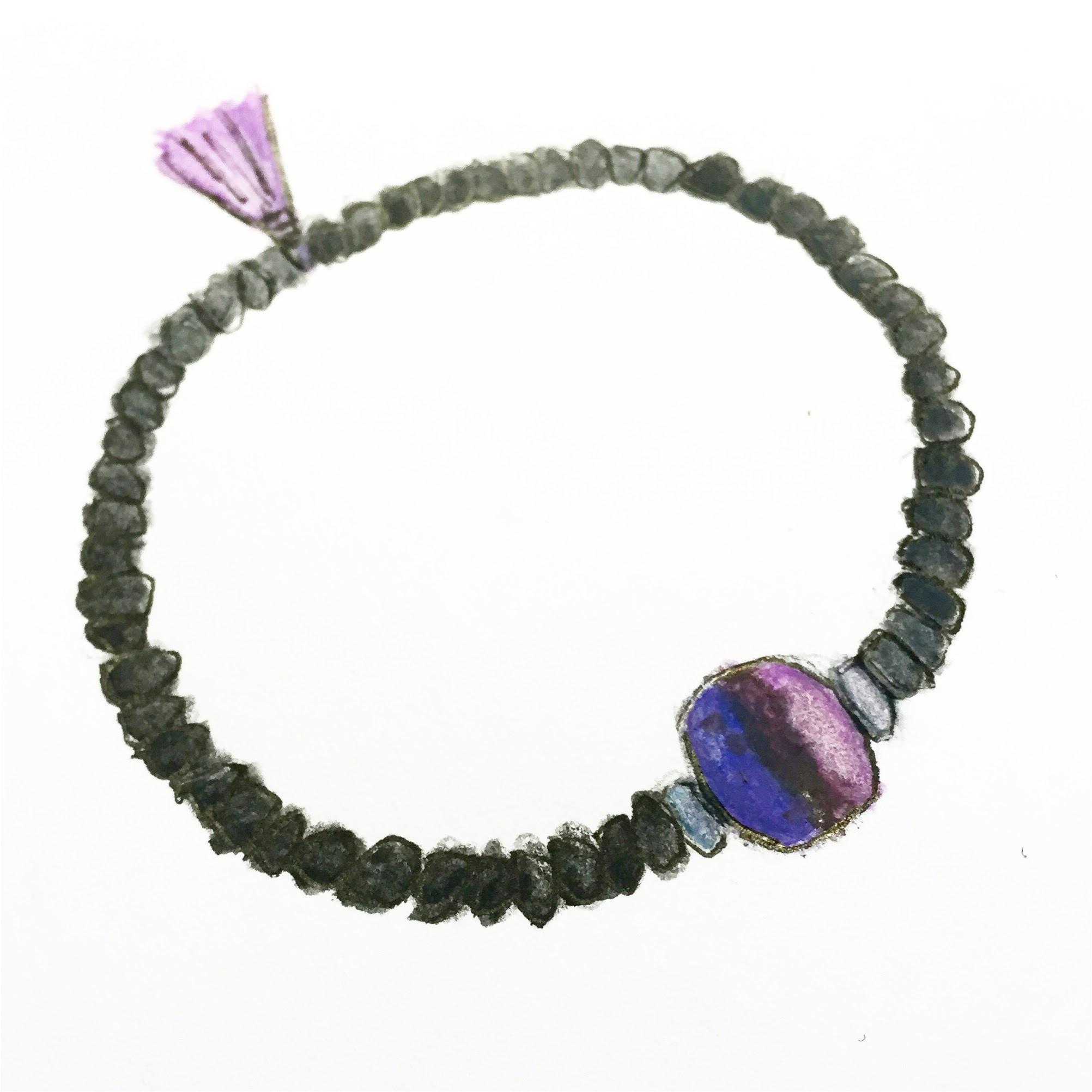 Canine Cancer fundraiser bracelet