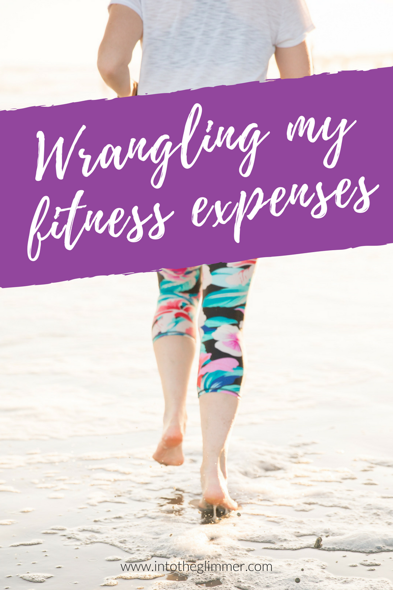 wrangling my fitness expenses