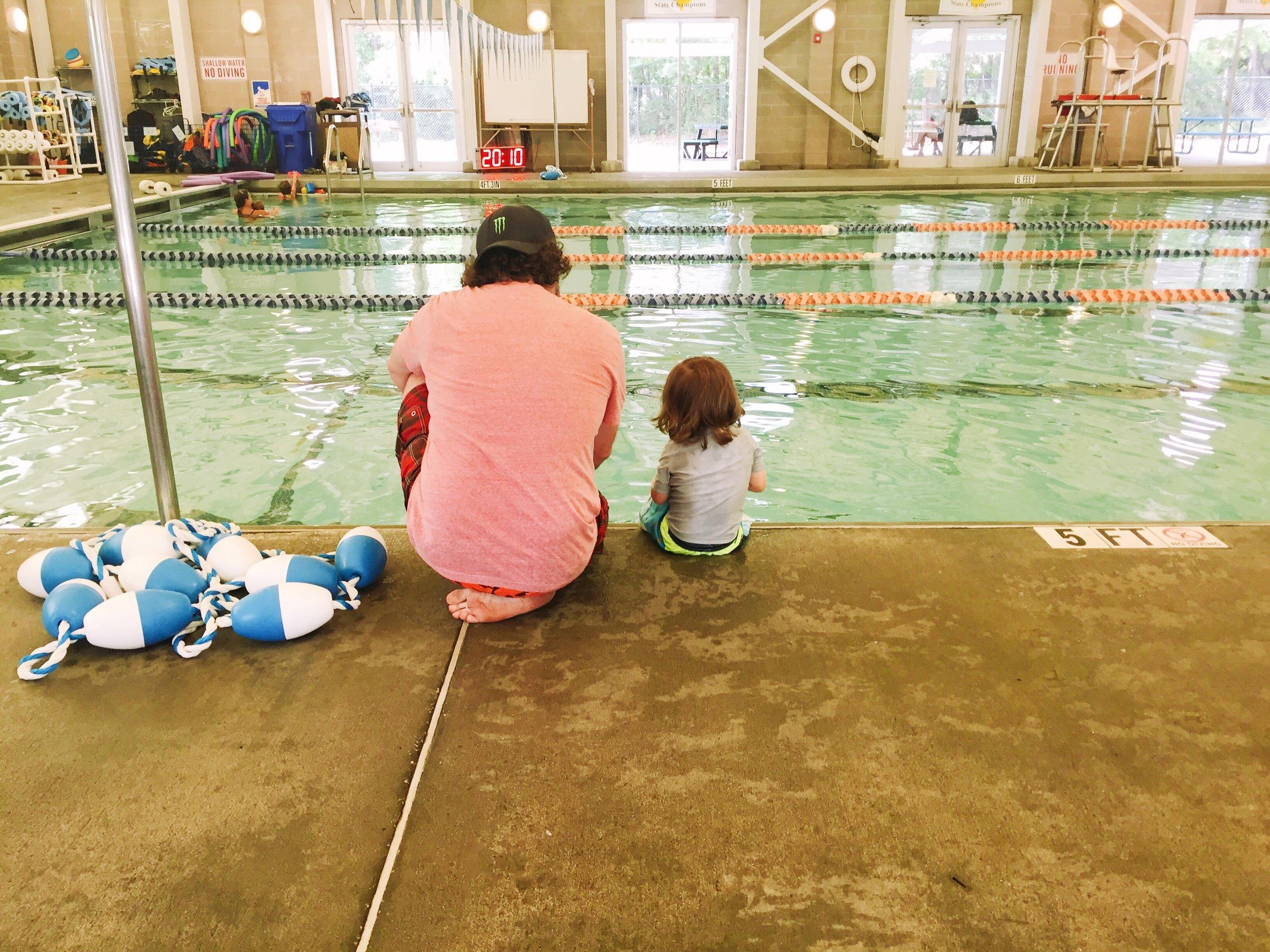 Just keep swimming, little b!
