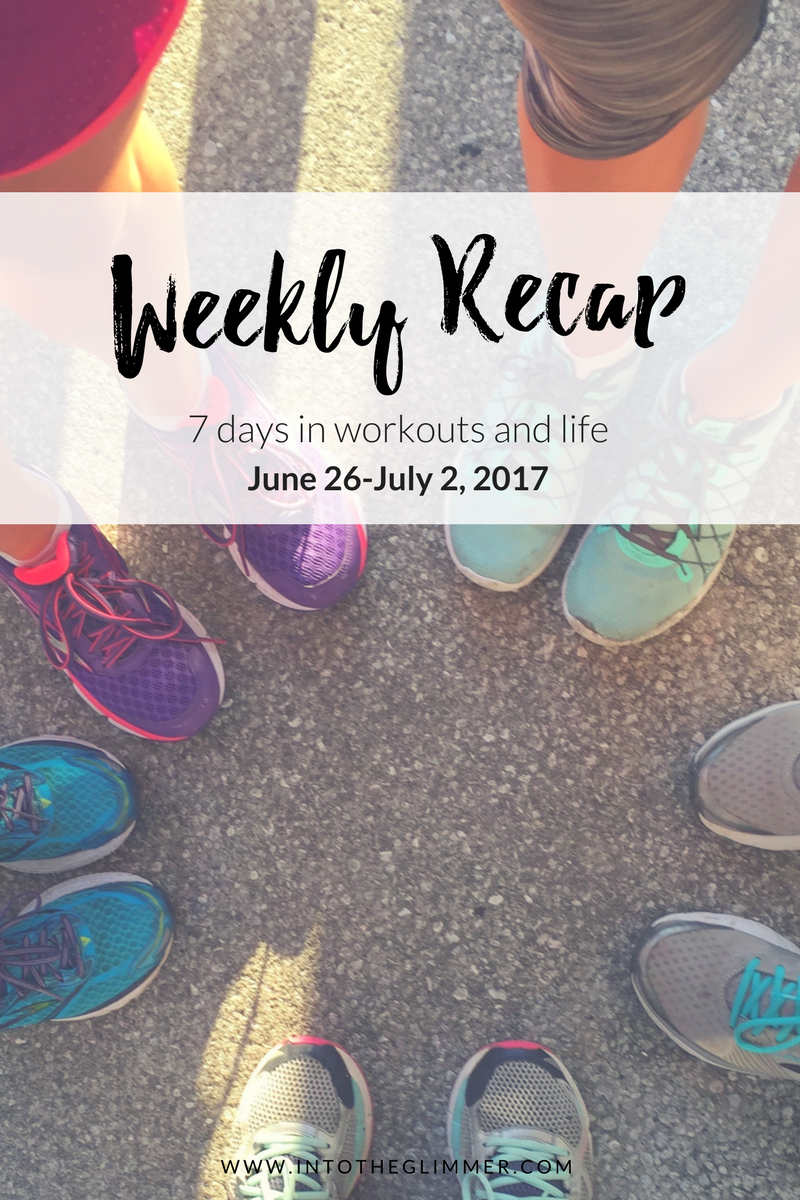 weekly recap - running shoes