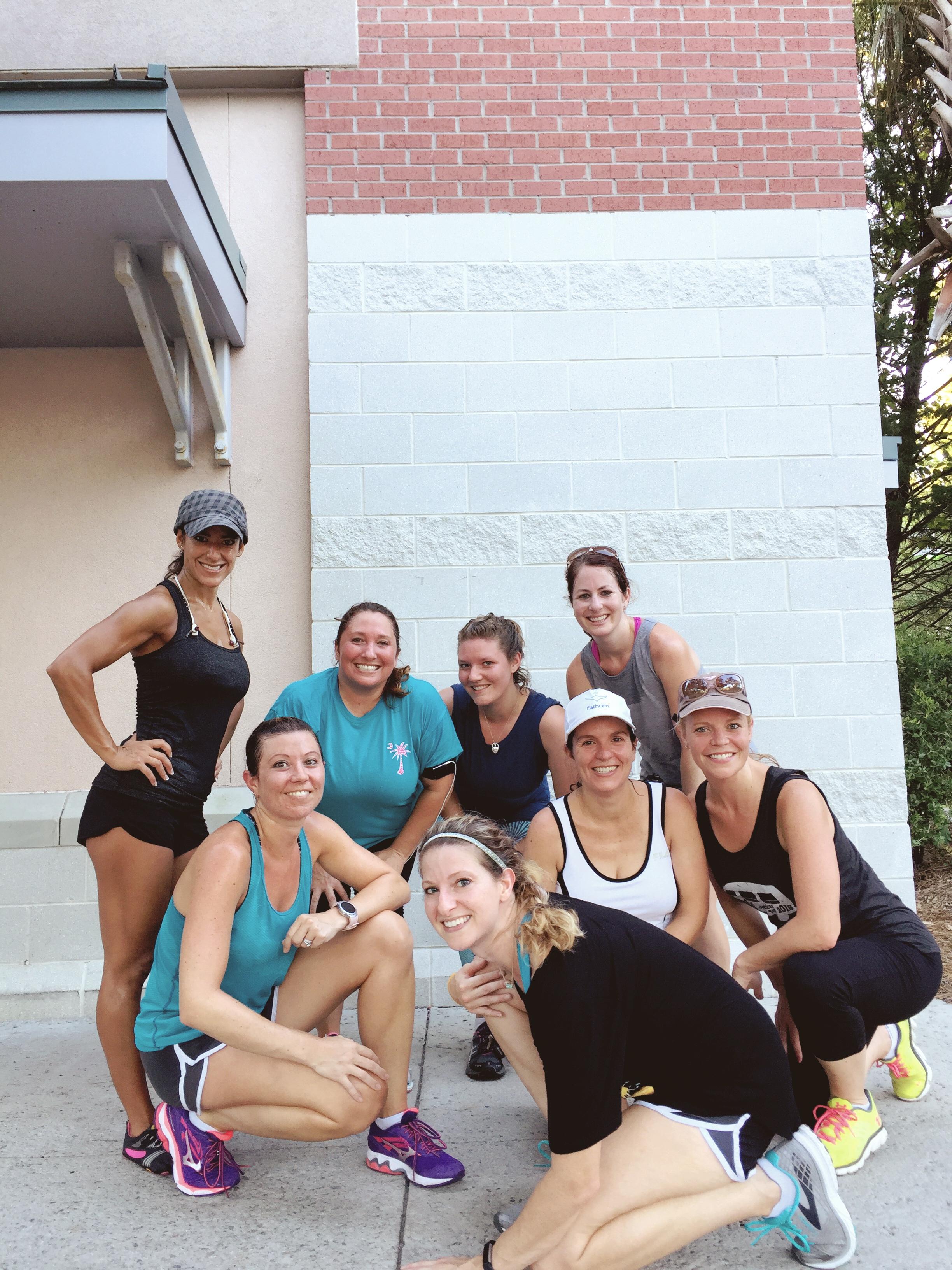 Wednesday running group