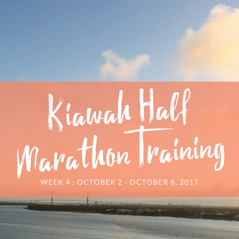 kaiwah half training week 4