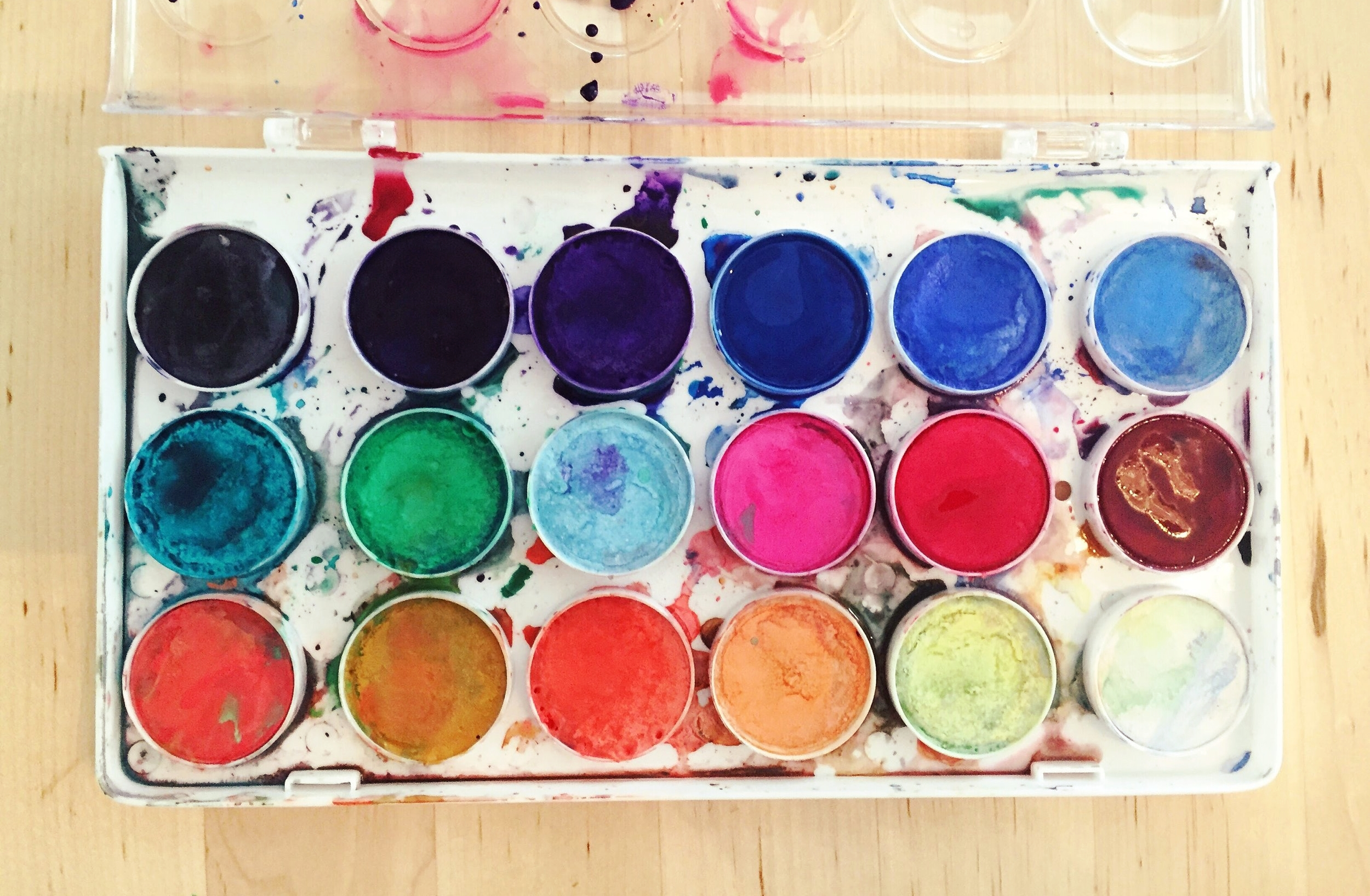 I love watercolors!
