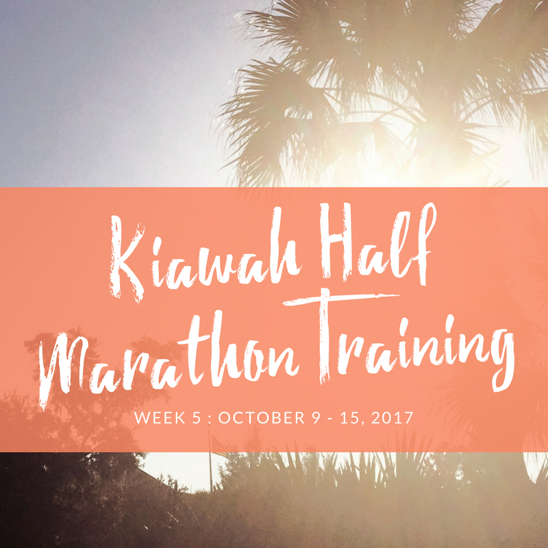 kiawah training week 5
