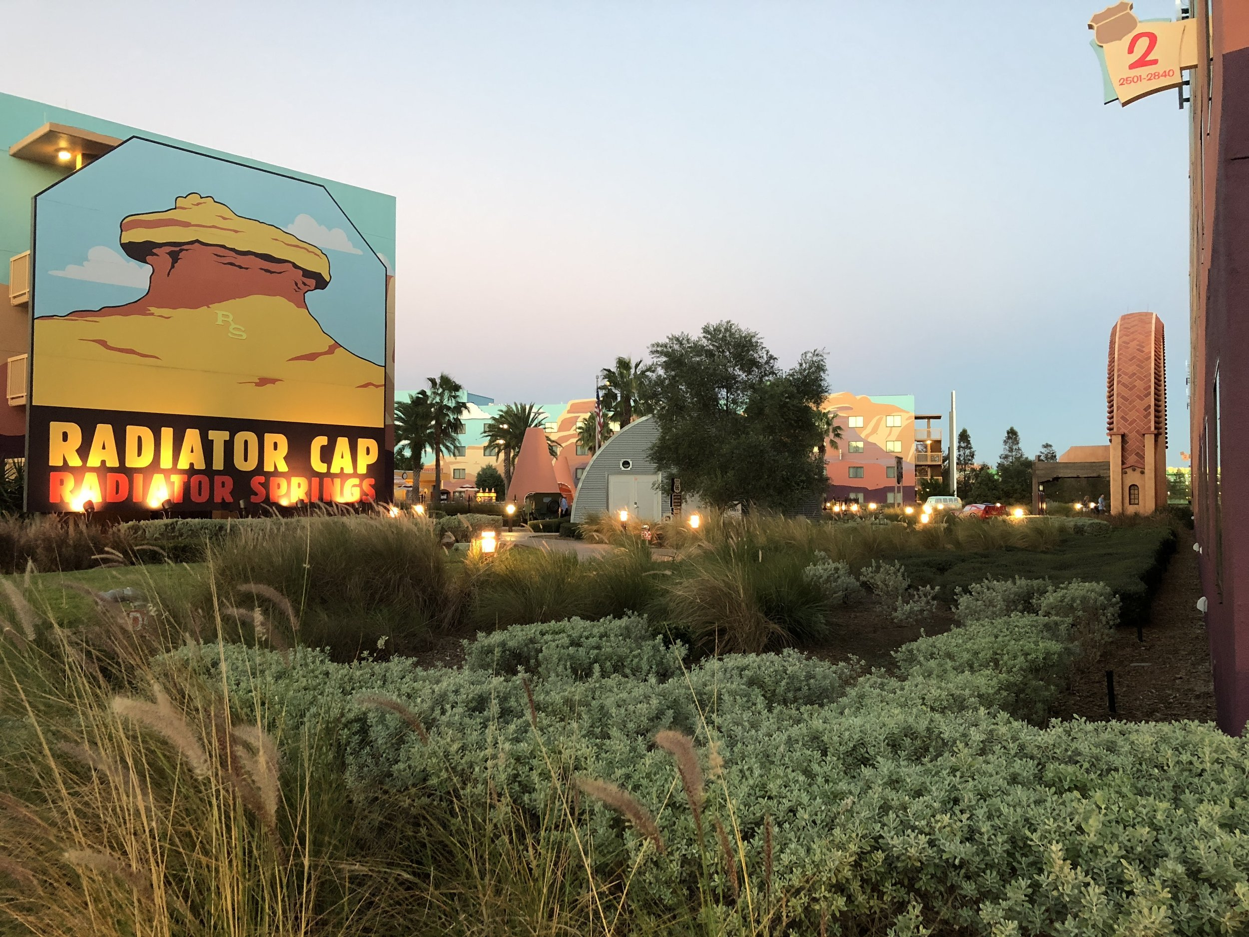 Welcome to radiator Springs (Art of Animation resort)