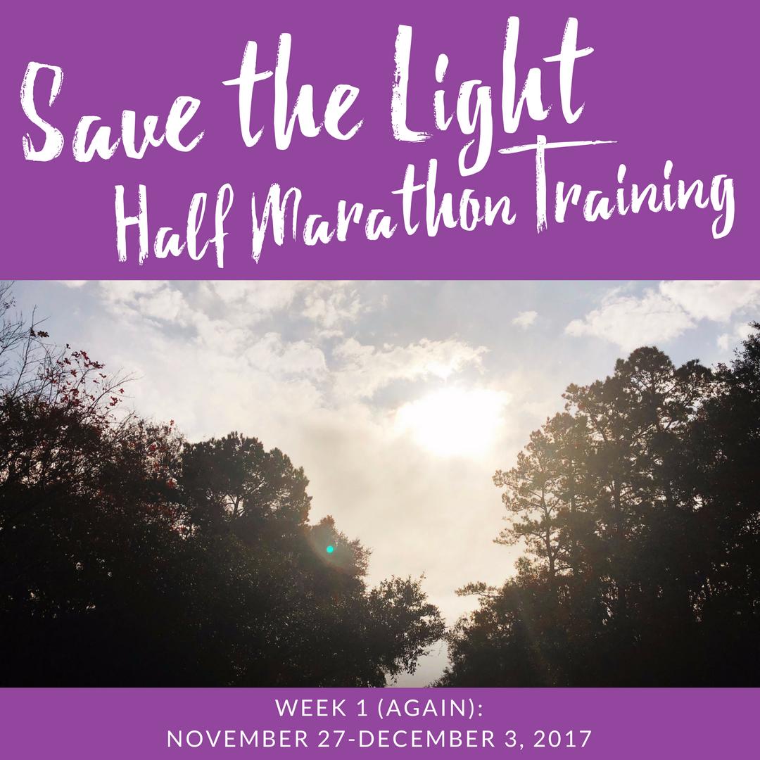 Save the Light Half Marathon Training