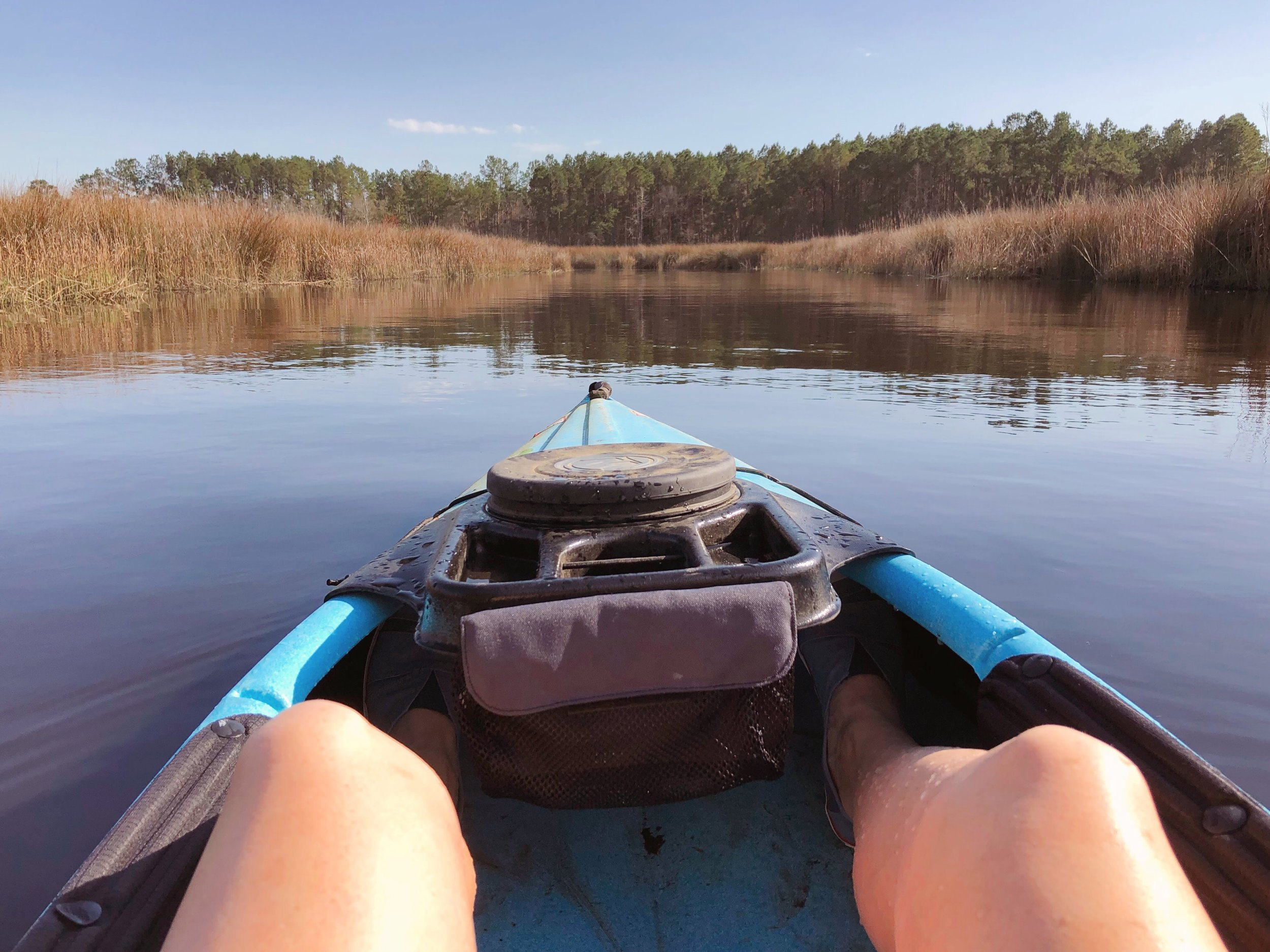 views from the kayak