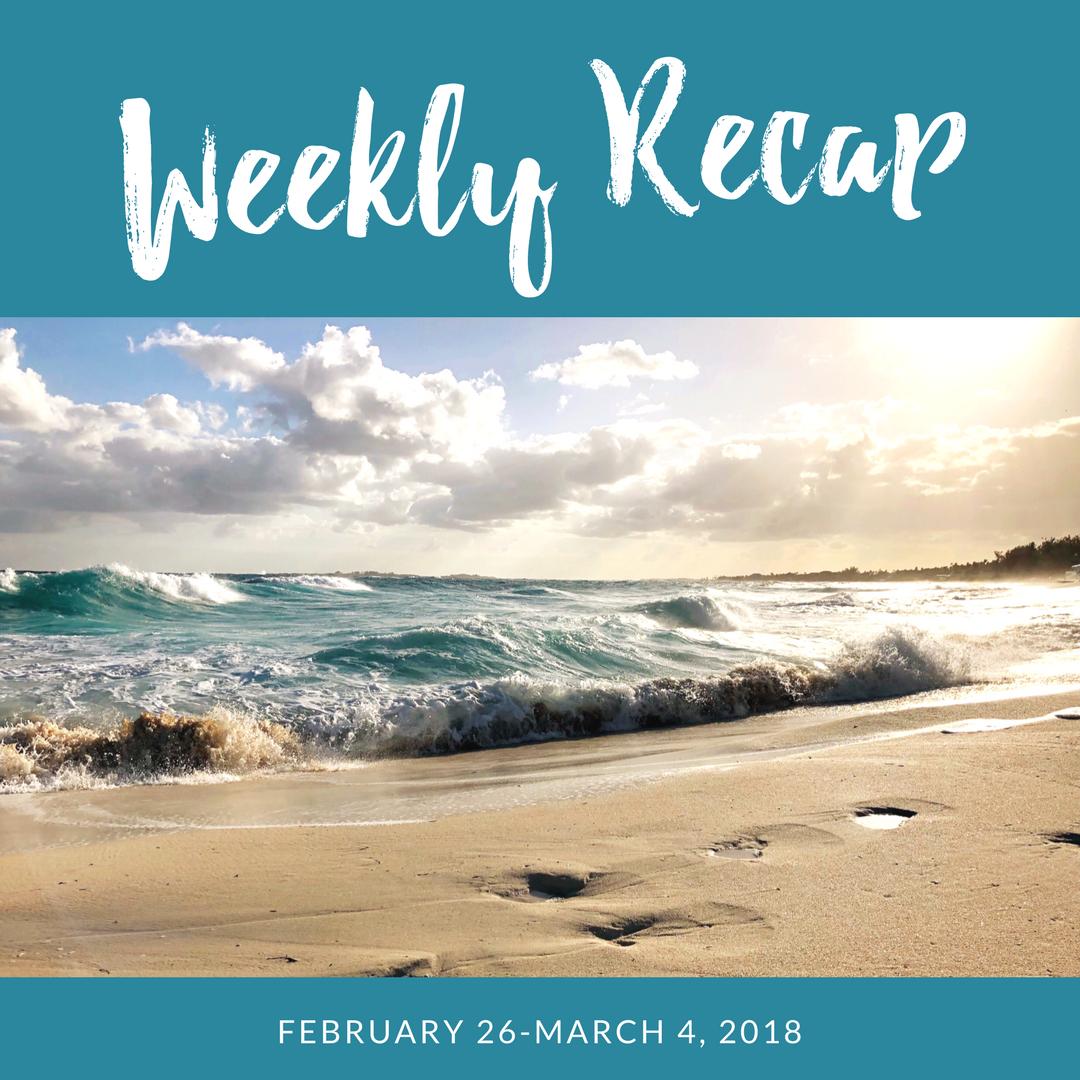 Weekly recap - Bahamas