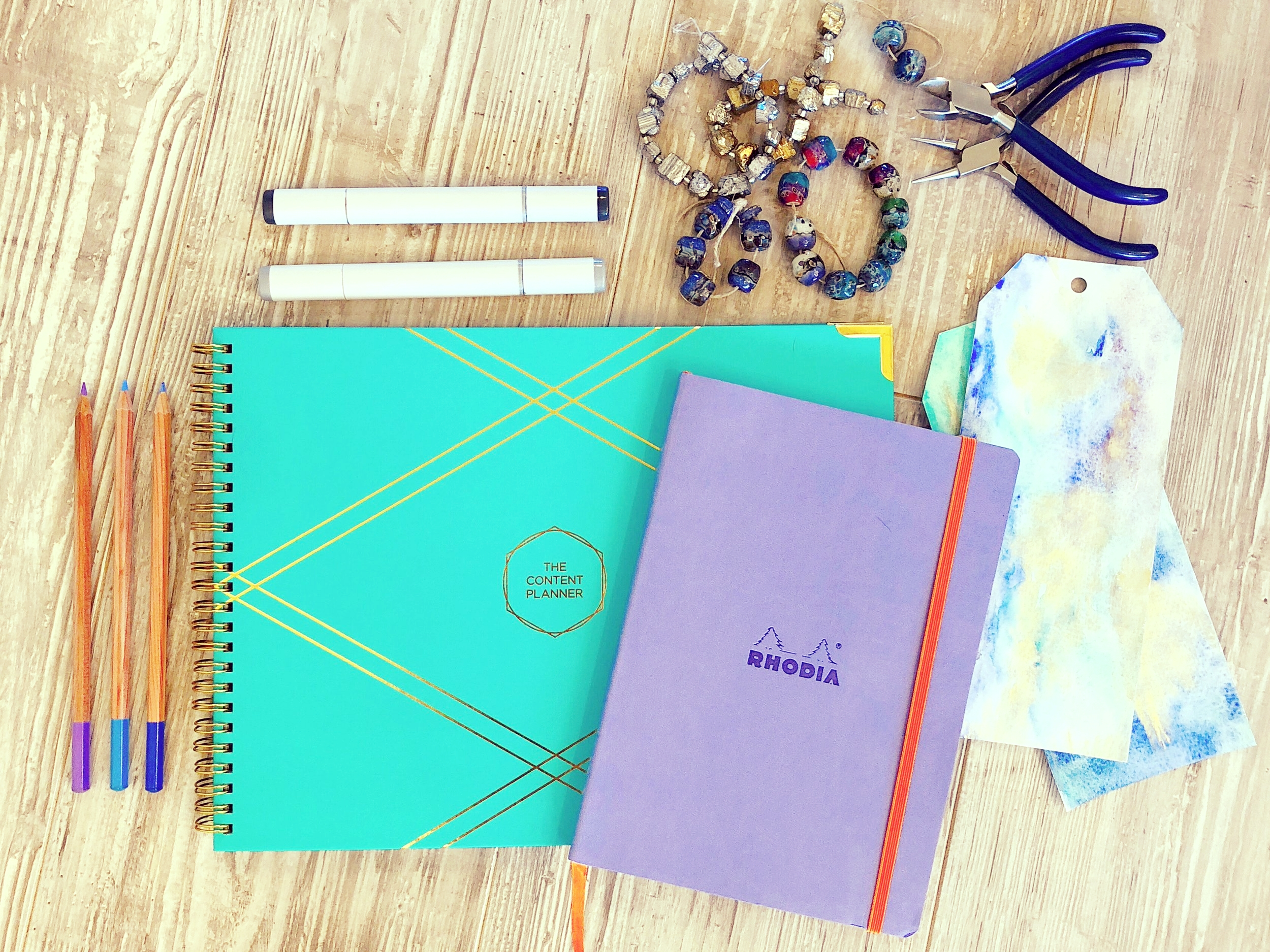 Planning tools for upping my blog and creative game