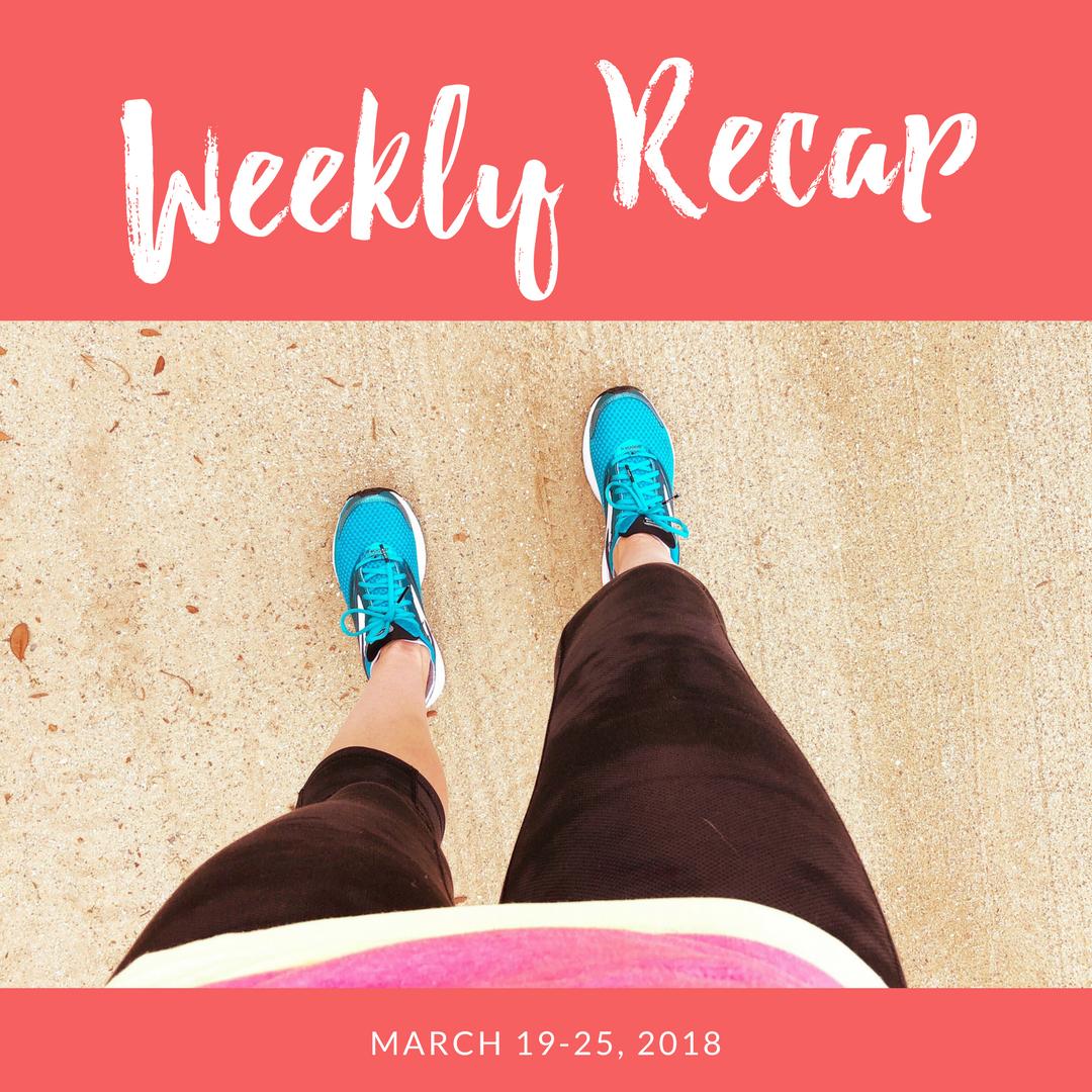 Weekly recap March 19-25