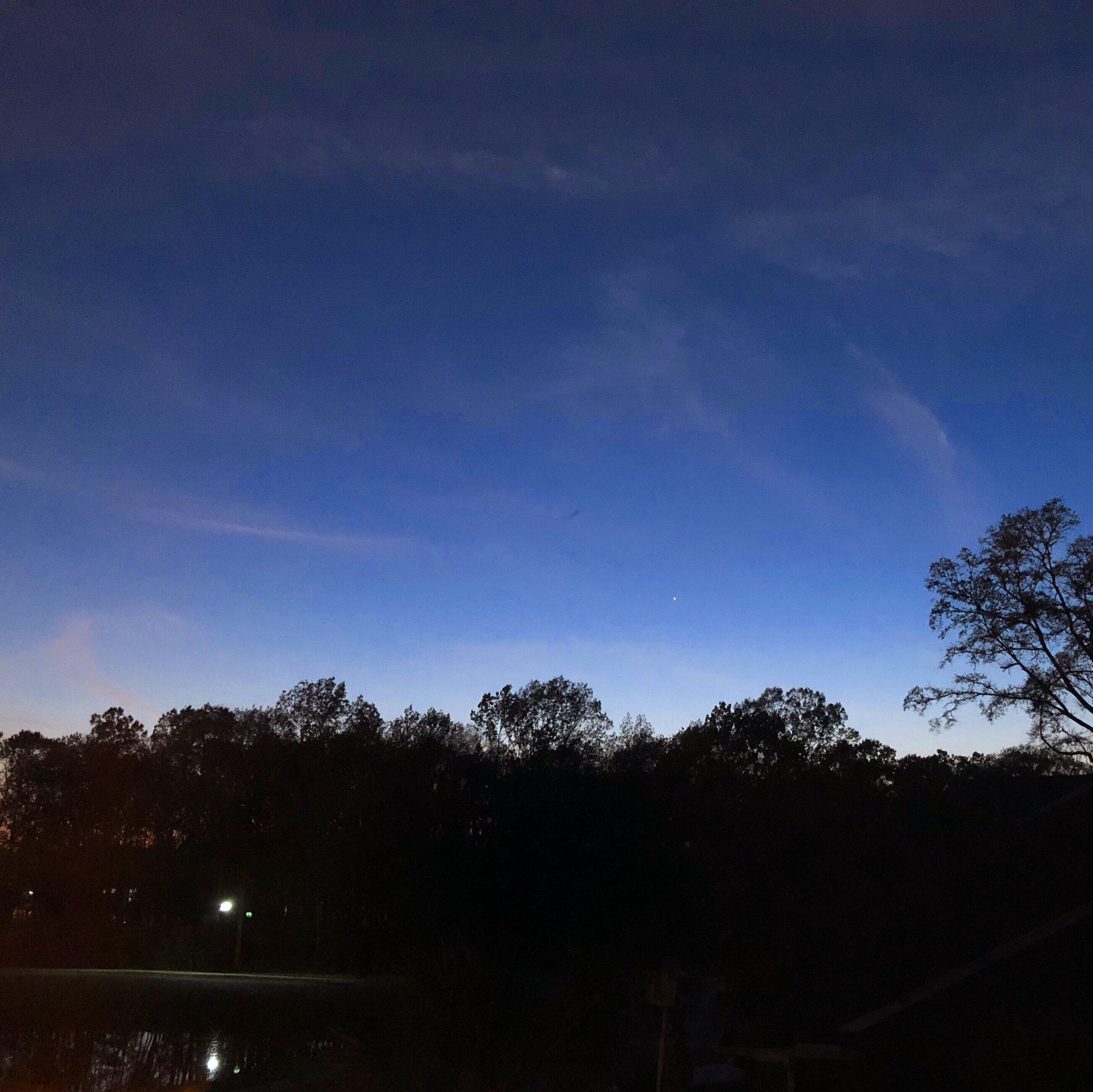 clear skies over charleston