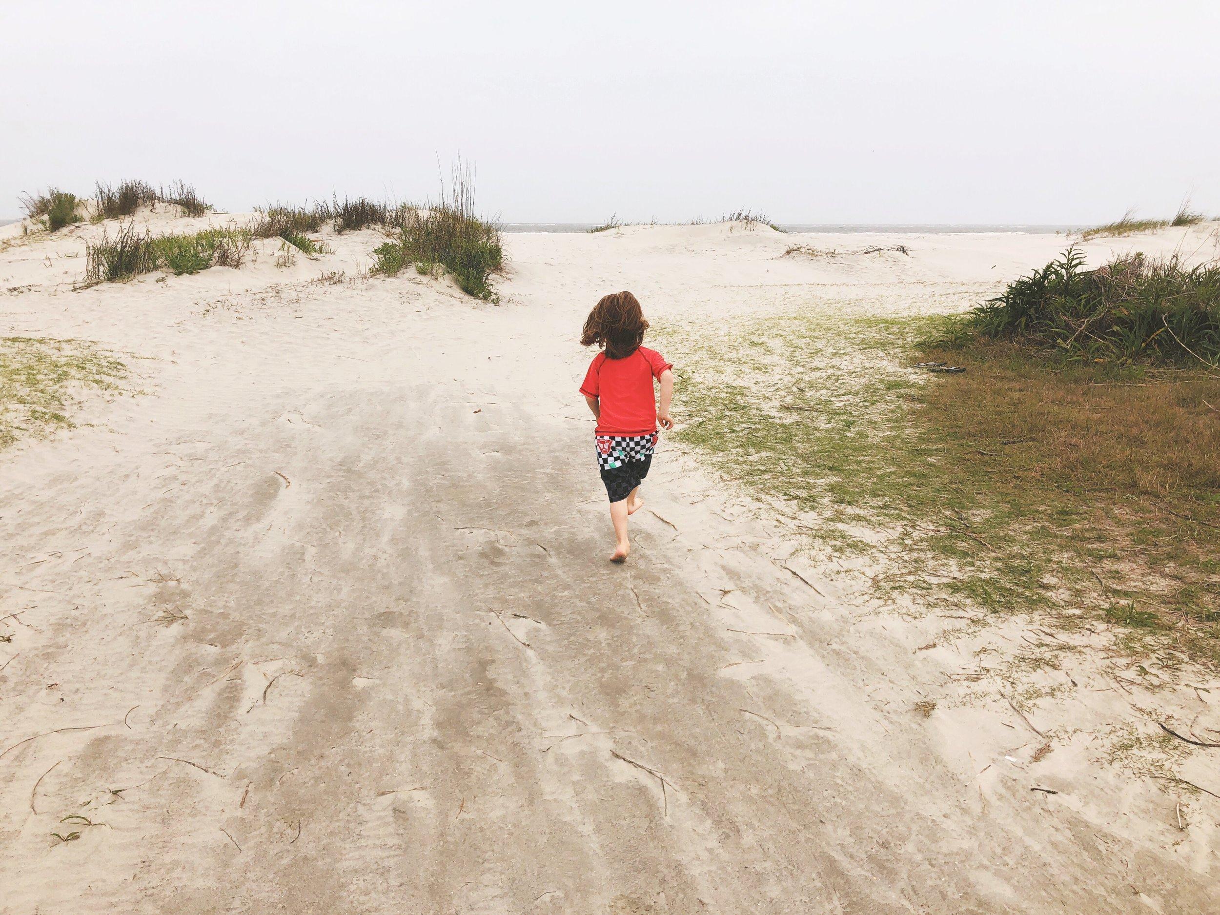 Beach baby (again)