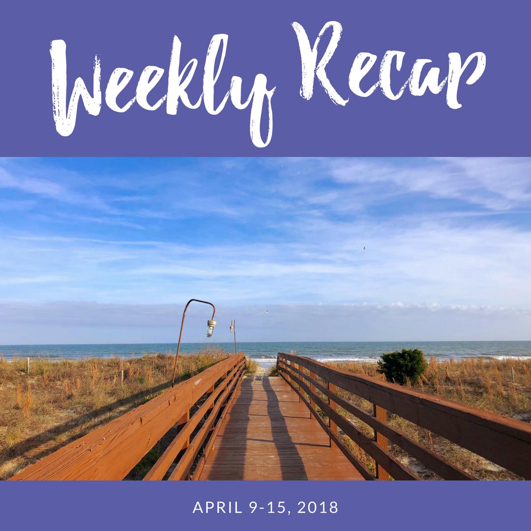 weekly recap april 9-15