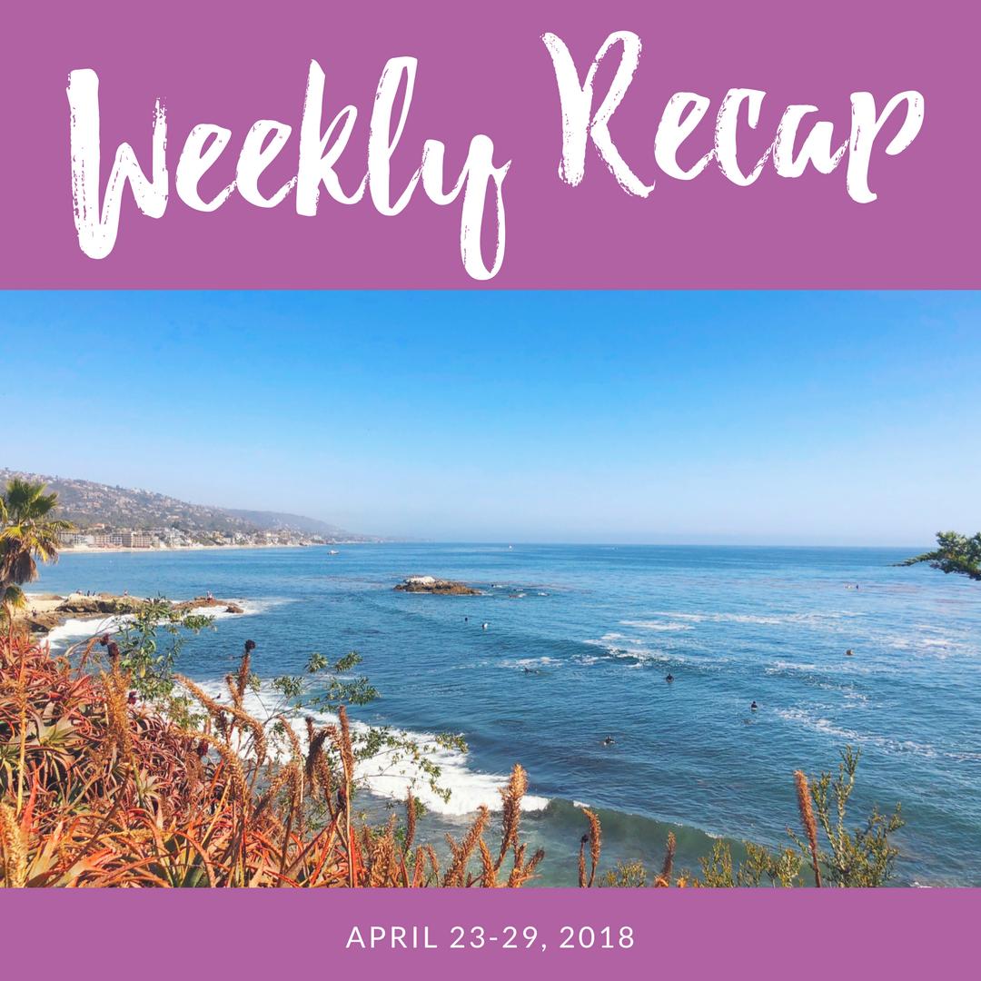 weekly recap april 23-29
