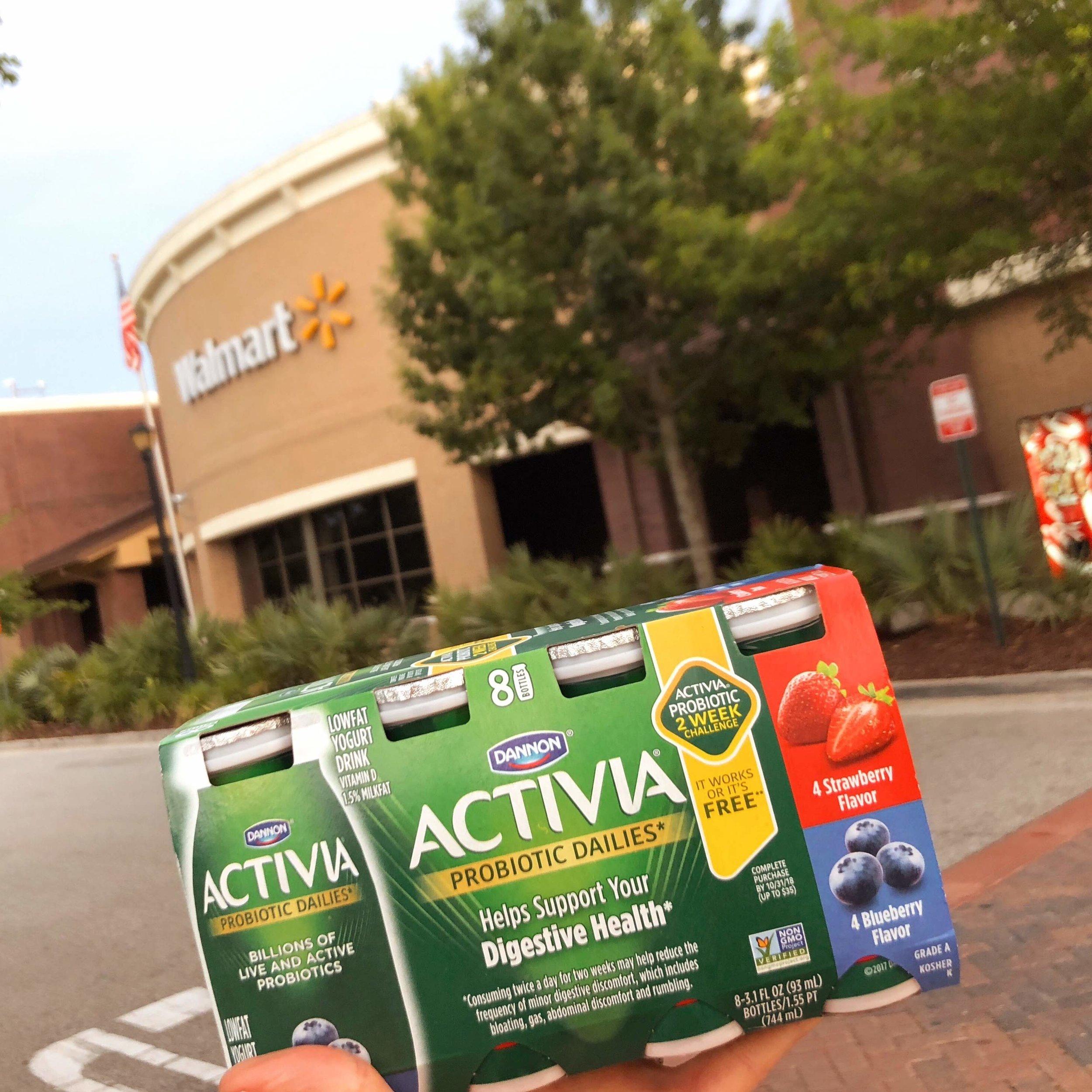 Activia Dailies at Walmart