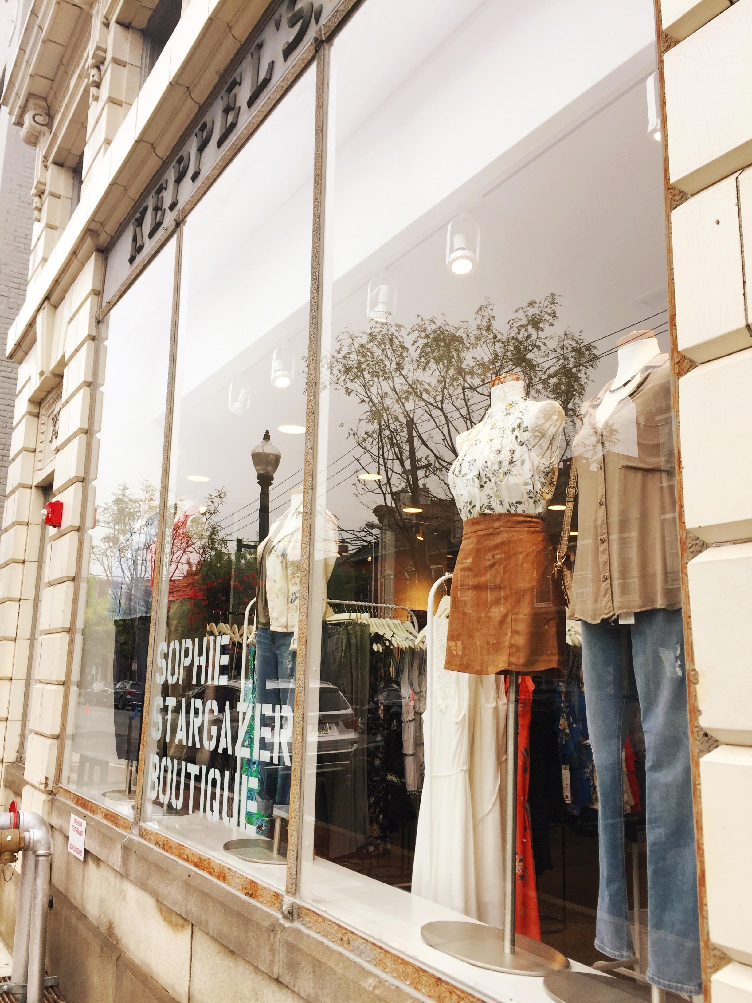 Sophie Stargazer Storefront on North Queen Street