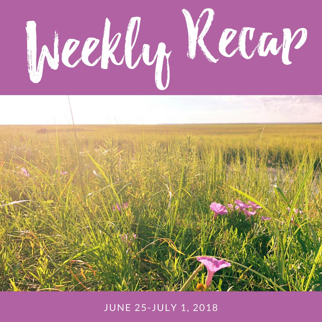 weekly recap june 25-july 1, 2018
