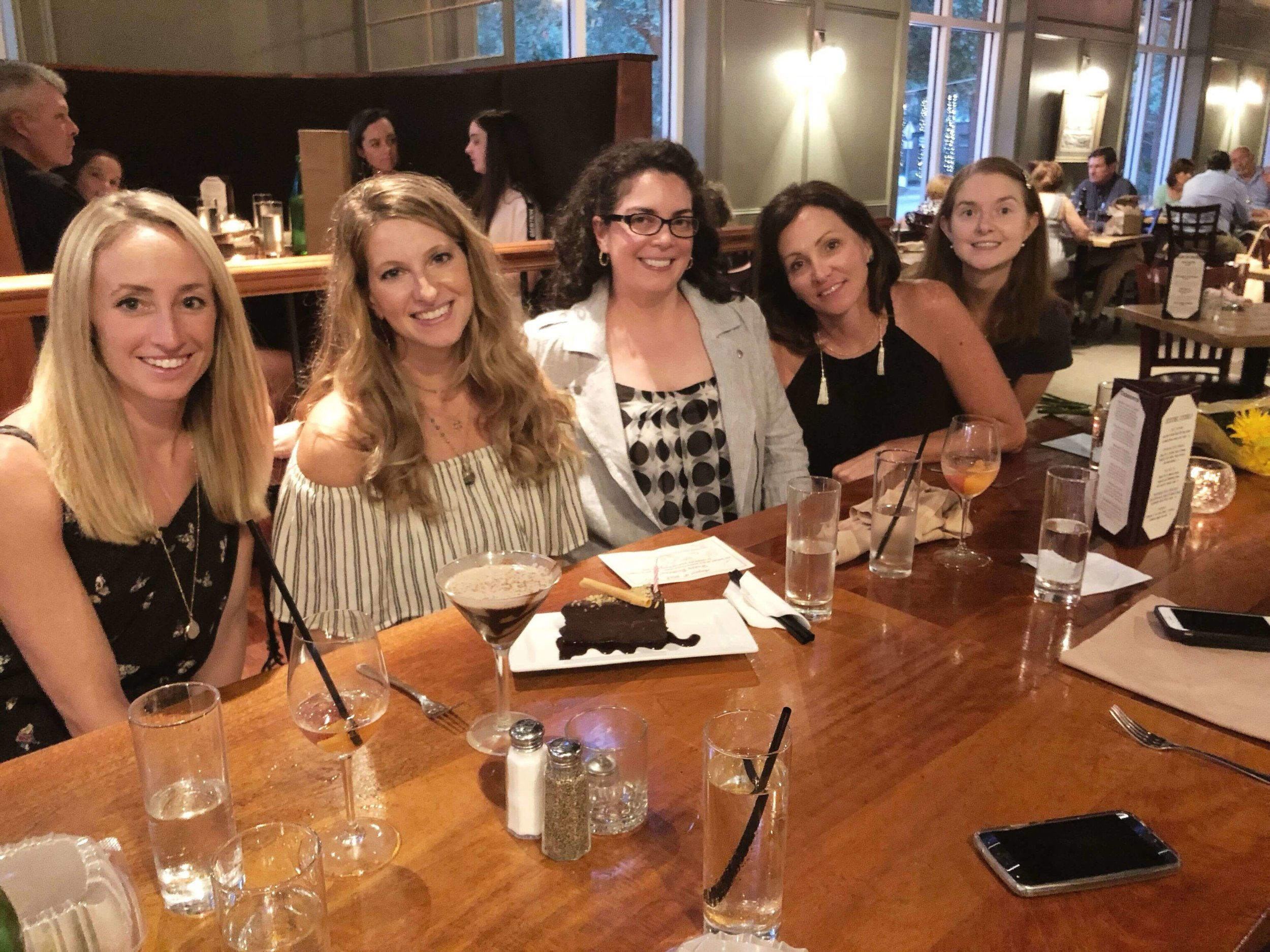 Girls night out at Crave