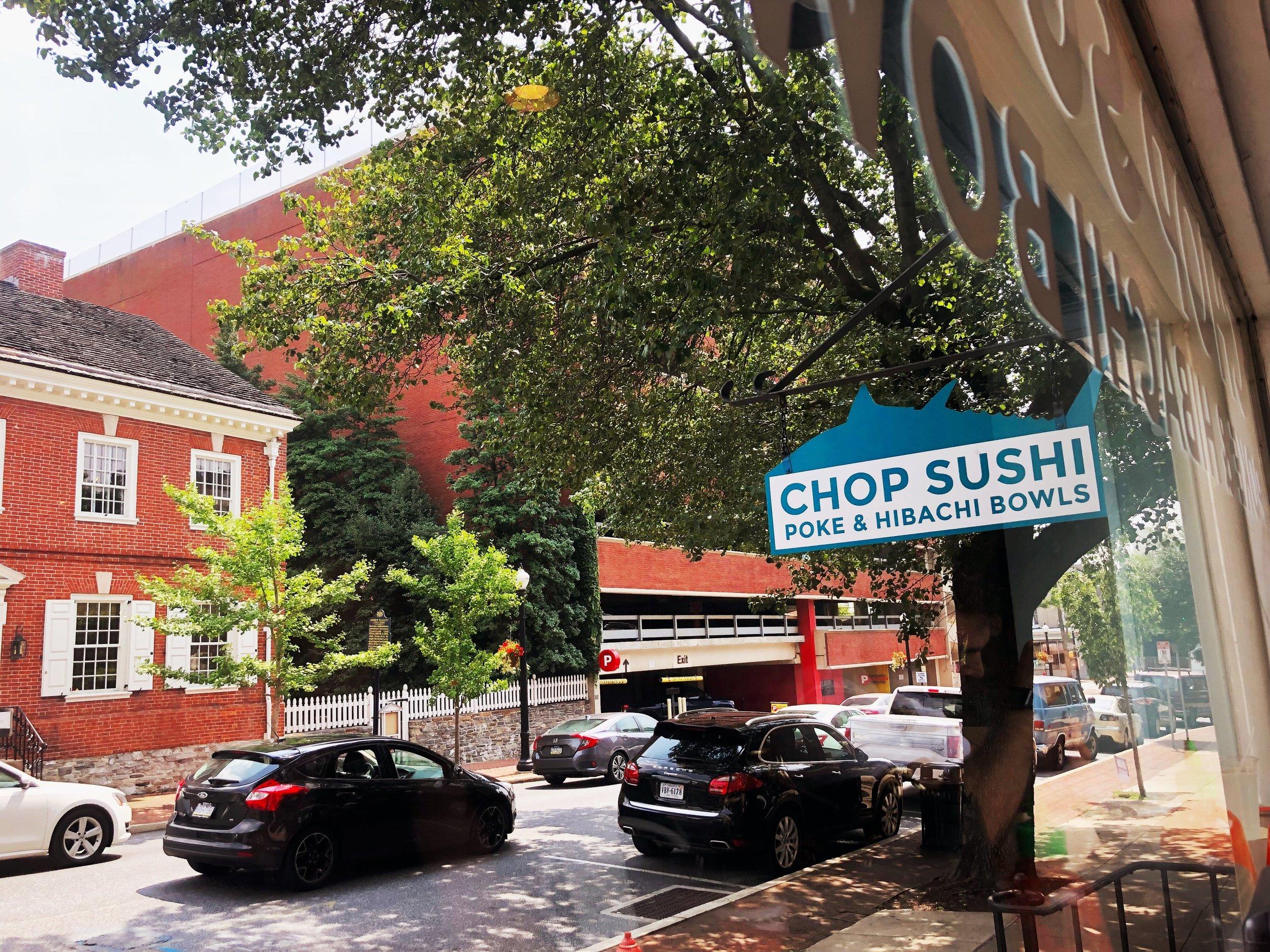 Chop Sushi - Poke bowls for lunch!