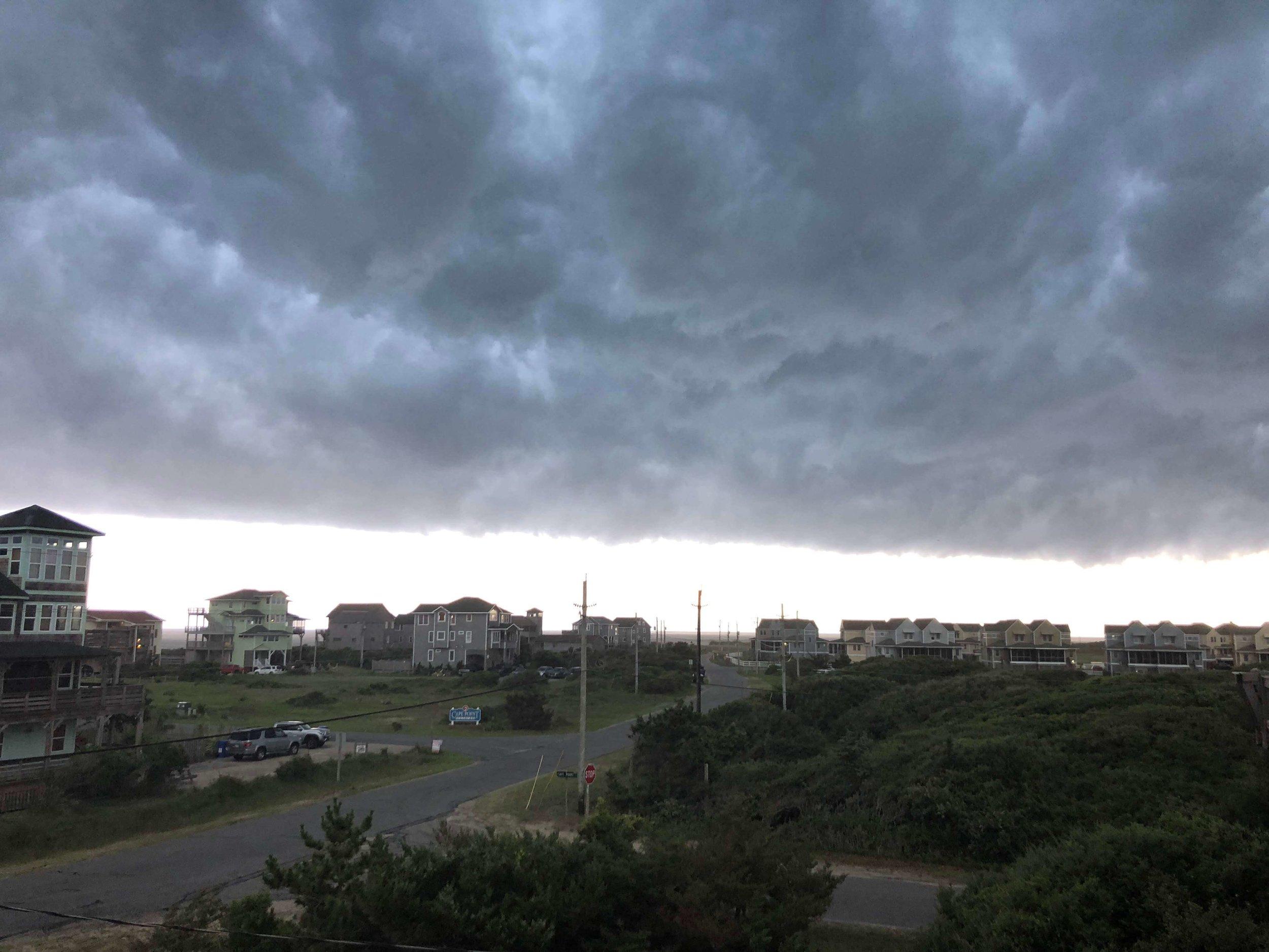 Storm Clouds in OBX