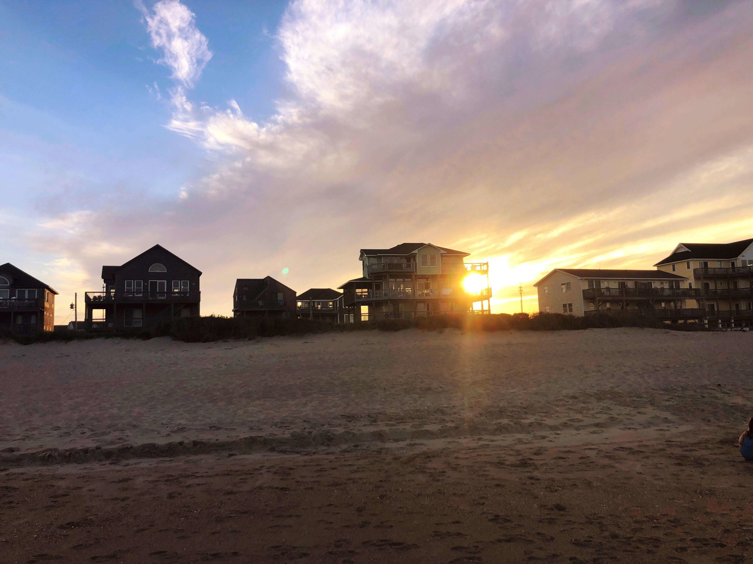 sunset in Buxton, NC Outer Banks