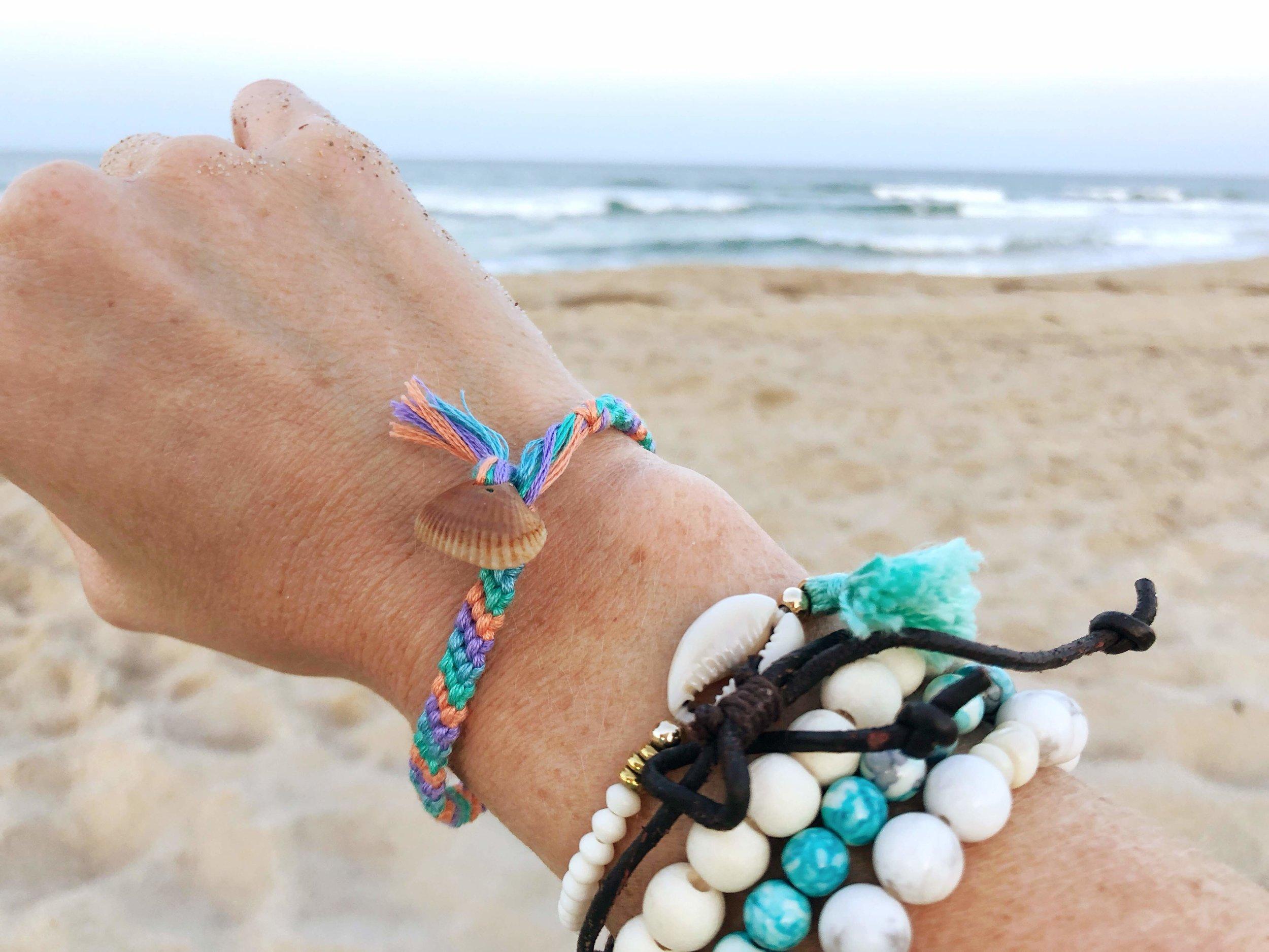 bracelets with shells