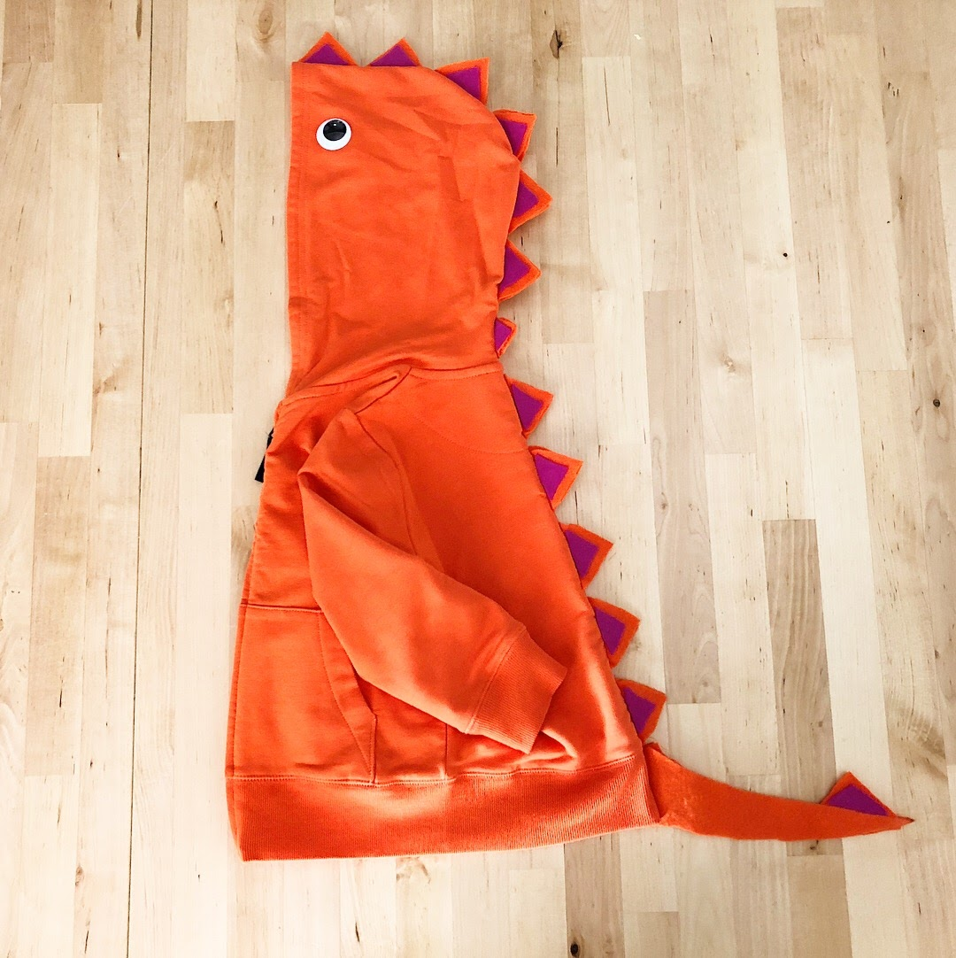 dinosaur diy halloween costume
