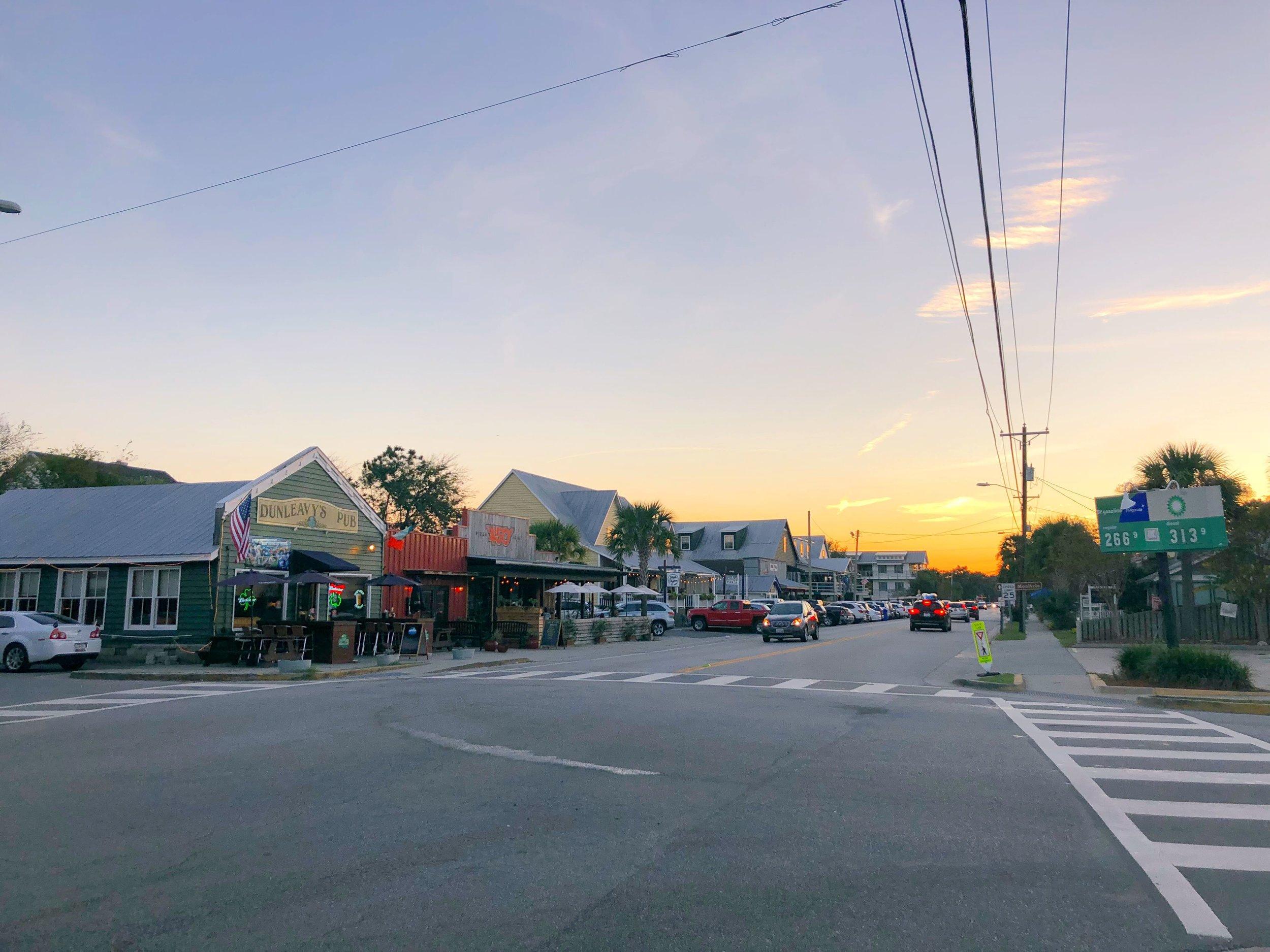Middle Street on Sullivan's Island