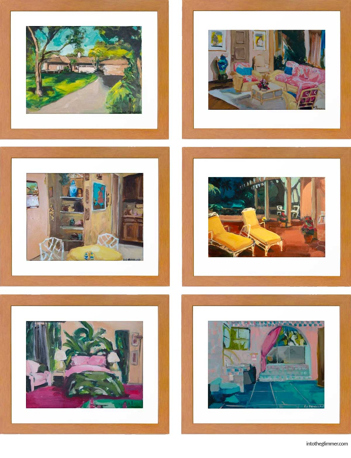 Shop:  Front of House  |  Living Room  |  Kitchen  |  Lannai  |  Blanche's Bedroom  |  Bathroom