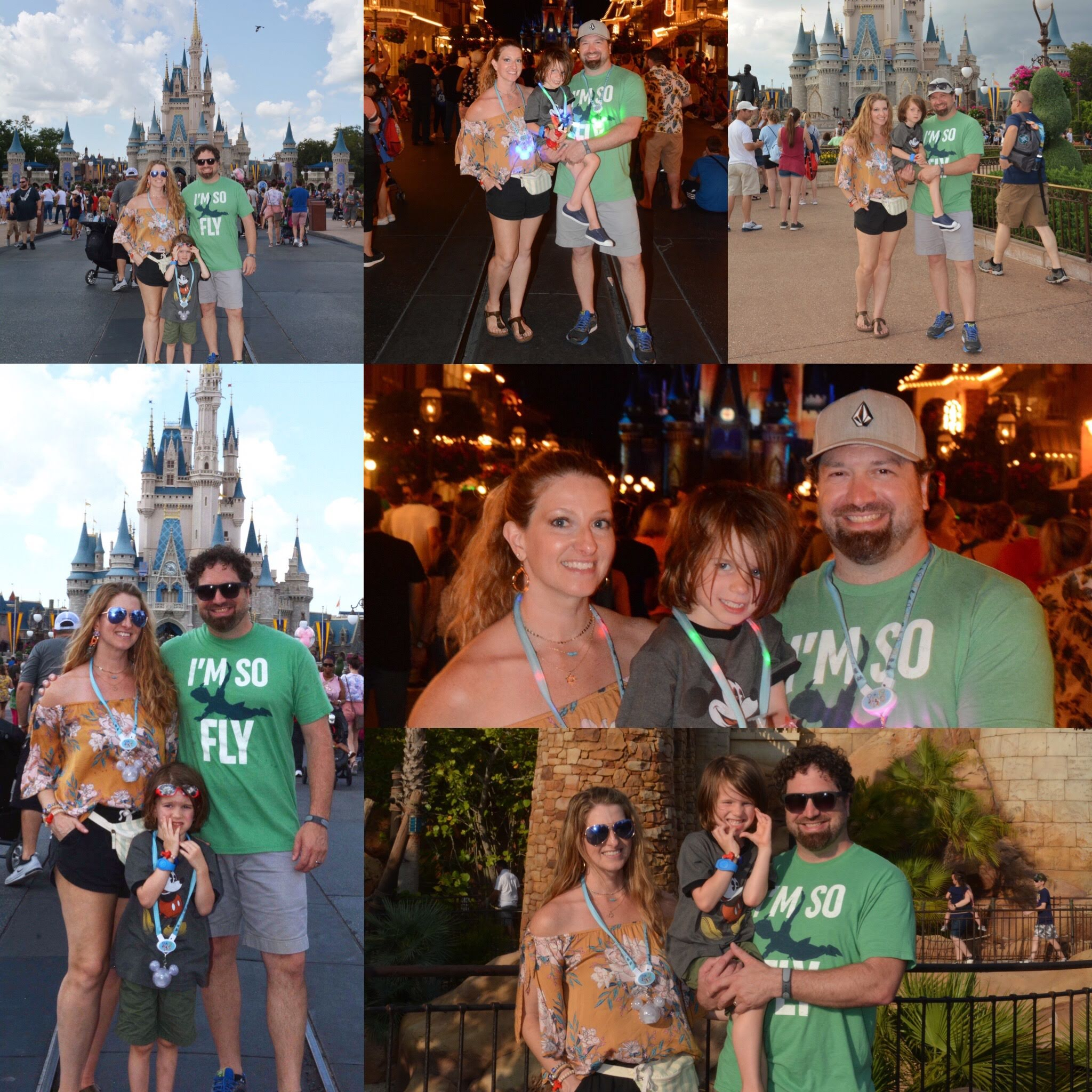 Magic Kingdom family pictures