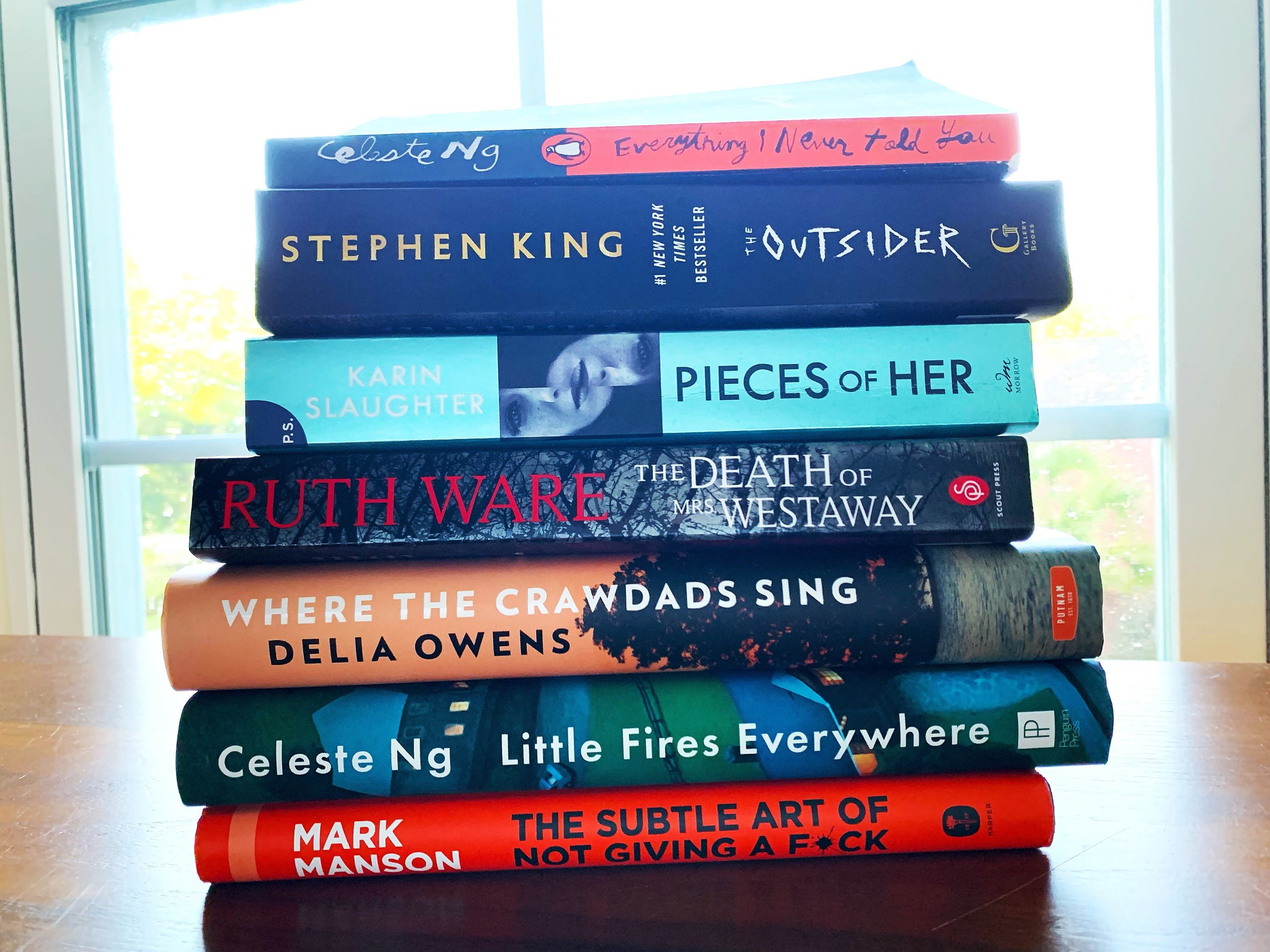 Books I read in May and June