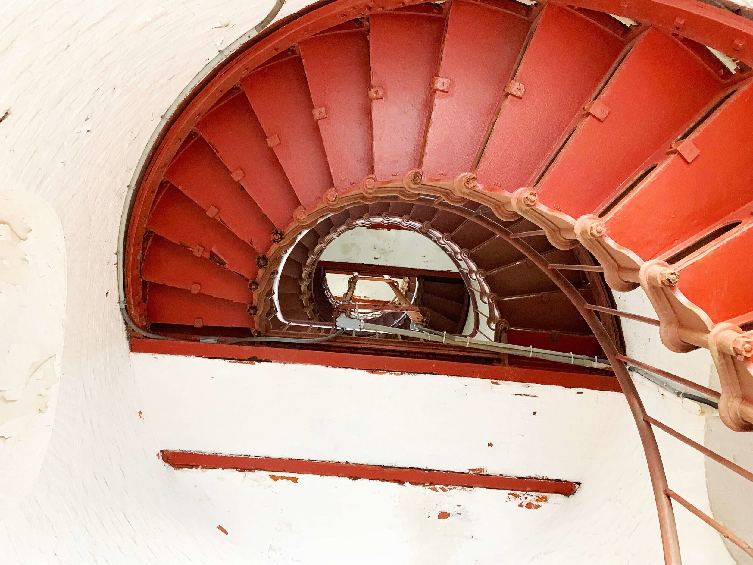 Cape Hatteras Lighthouse stairs