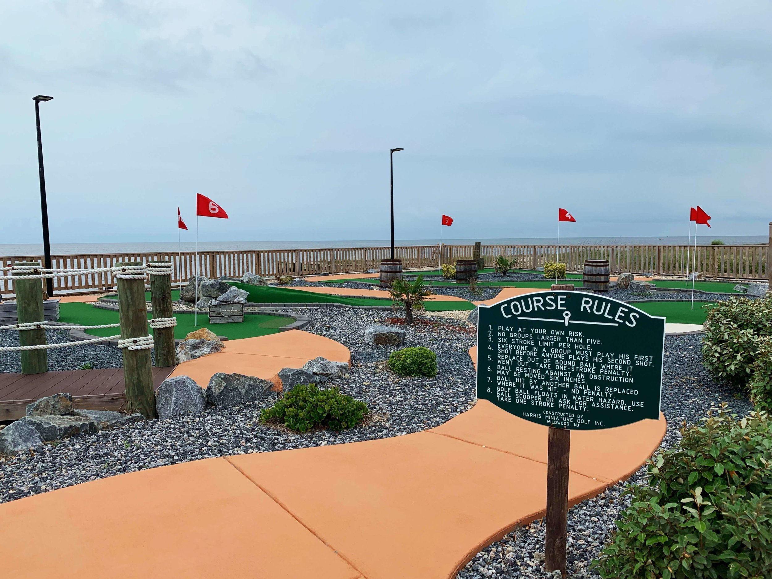 Mini Golf by the sound in Rodanthe, NC