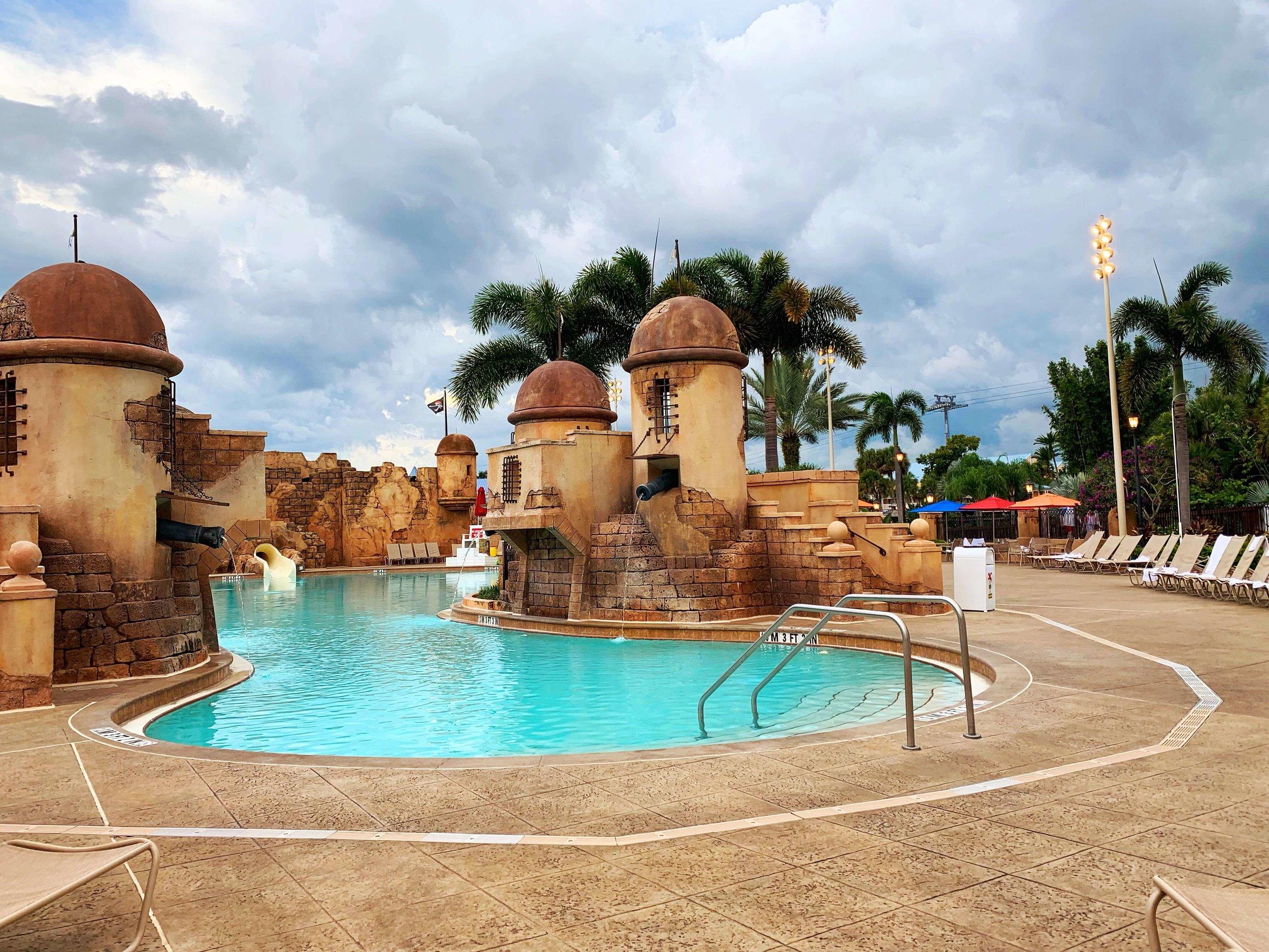 Disney's Caribbean Beach Main Pool