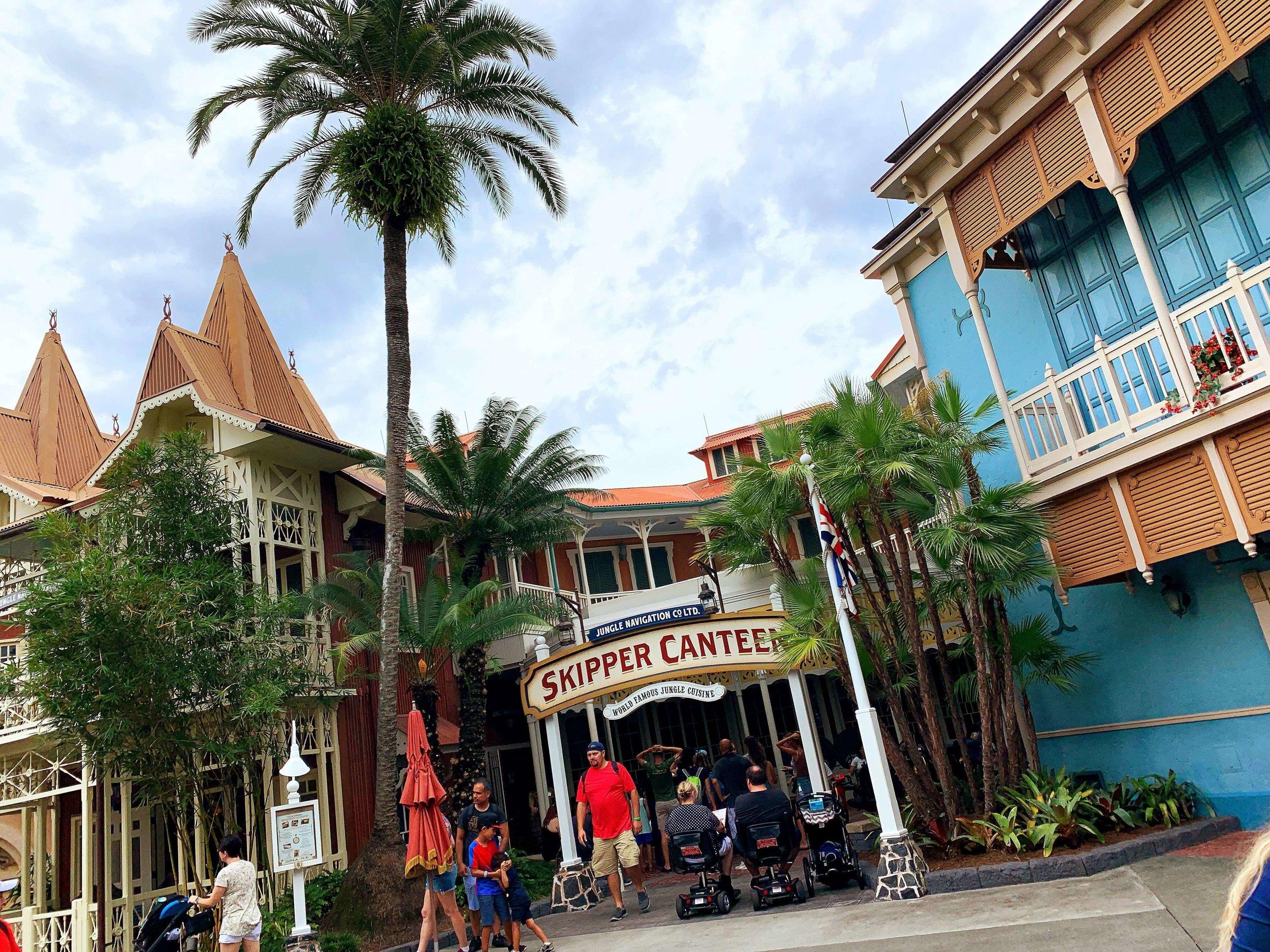 Skipper Canteen Adventureland Magic Kingdom