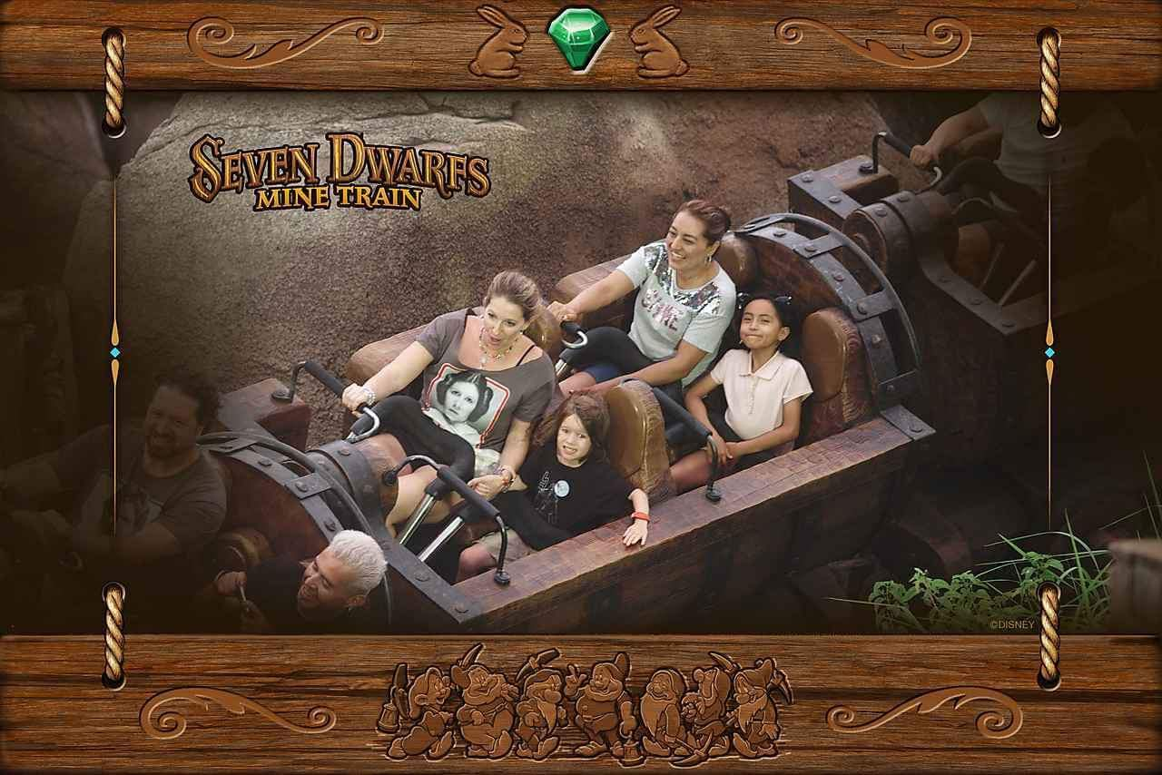 Seven Dwarves Mine Magic Kingdom