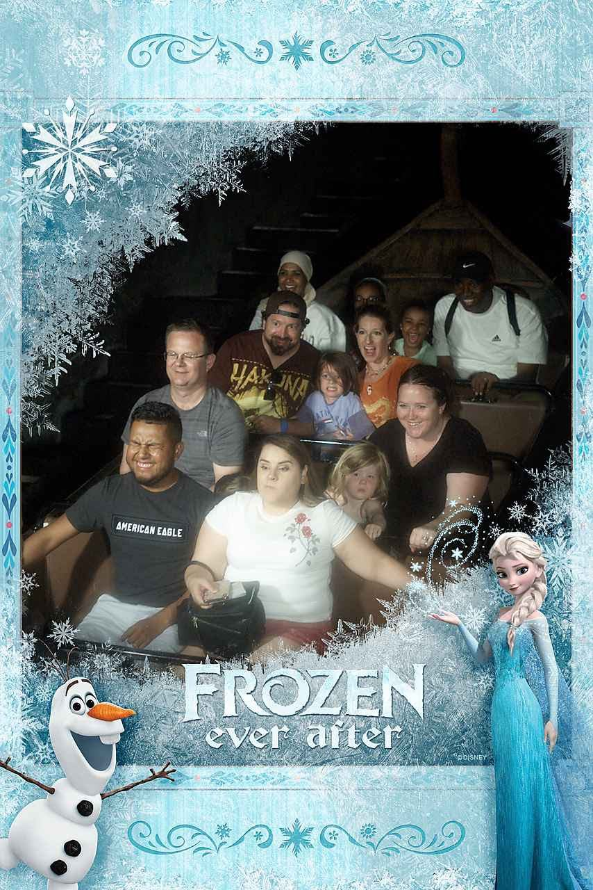 Frozen Ever After ride Epcot