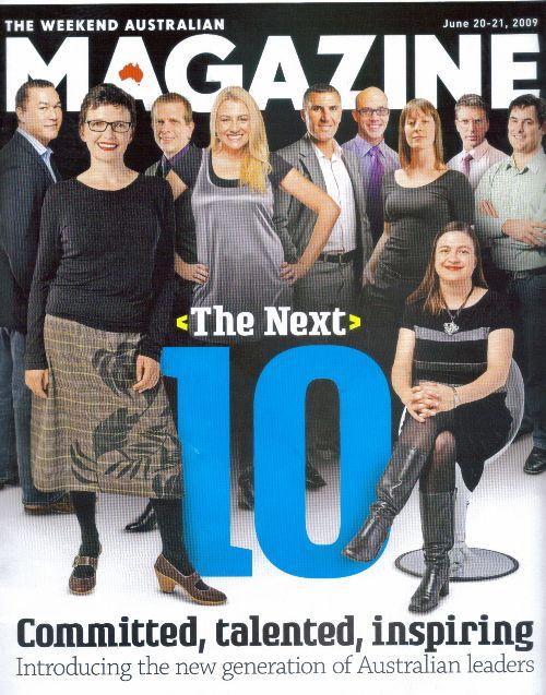 Weekend Australian Cover