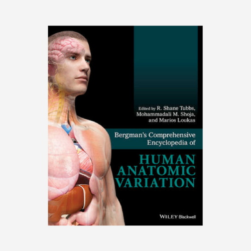 Bergman's Comprehensive Encyclopedia of Human Anatomic Variation   With both new and updated entries, and now illustrated in full color, the encyclopedia provides an even more comprehensive reference on human variation for anatomists, anthropologists, physicians, surgeons, medical personnel, and all students of anatomy.