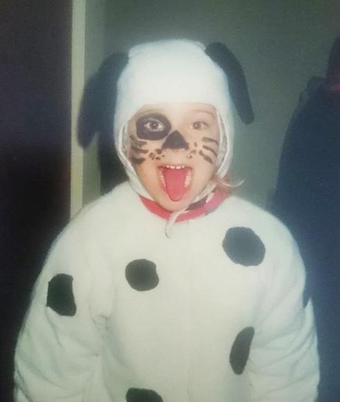 Fruppy Puppy, age five