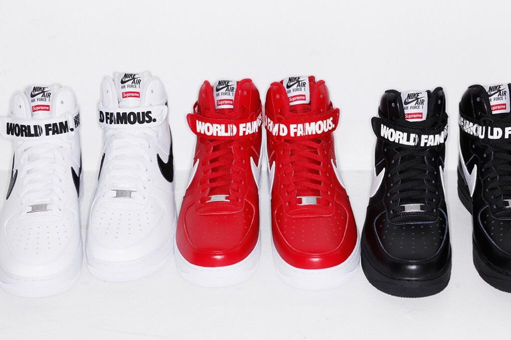 Supreme AF x Nike
