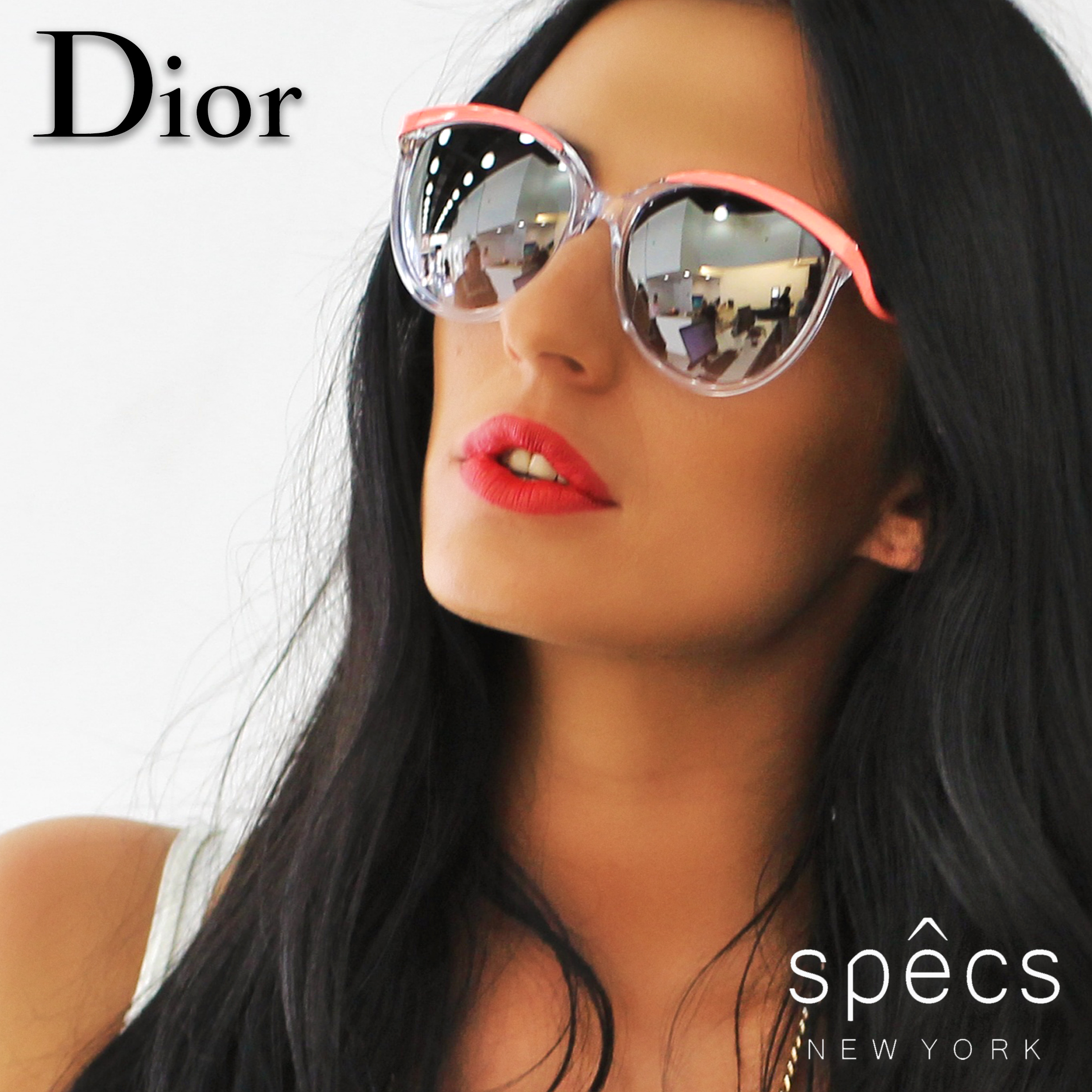 Cristin Fridman for Dior Eyewear